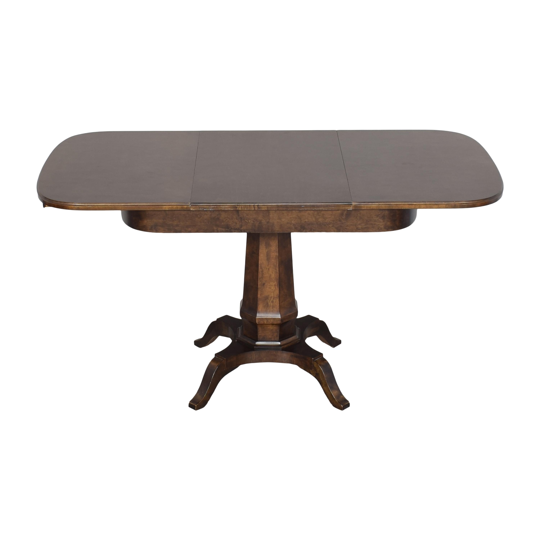 Biedermeier Biedermeier Pedestal Extendable Dining Table Tables