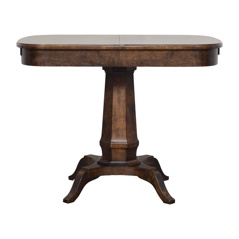 Biedermeier Biedermeier Pedestal Extendable Dining Table pa