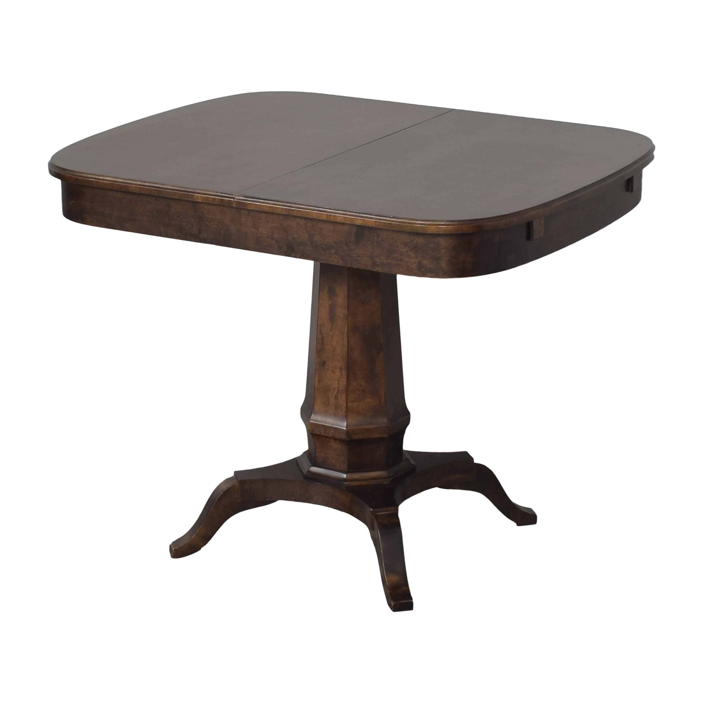 buy Biedermeier Pedestal Extendable Dining Table Biedermeier