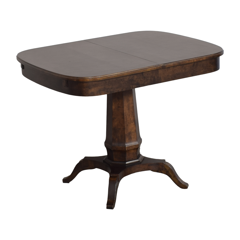 buy Biedermeier Pedestal Extendable Dining Table Biedermeier Dinner Tables