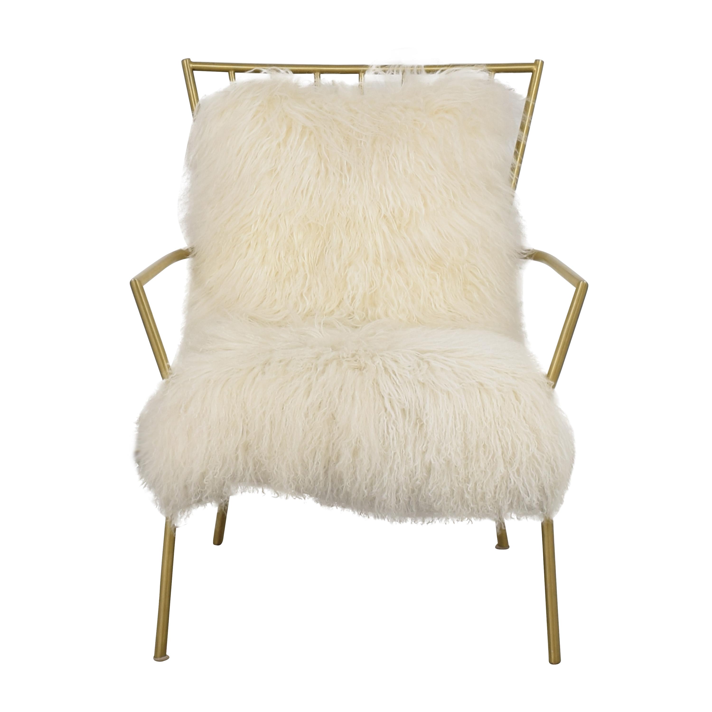 Mitchell Gold + Bob Williams Mitchell Gold + Bob Williams Ansel Chair gold & white