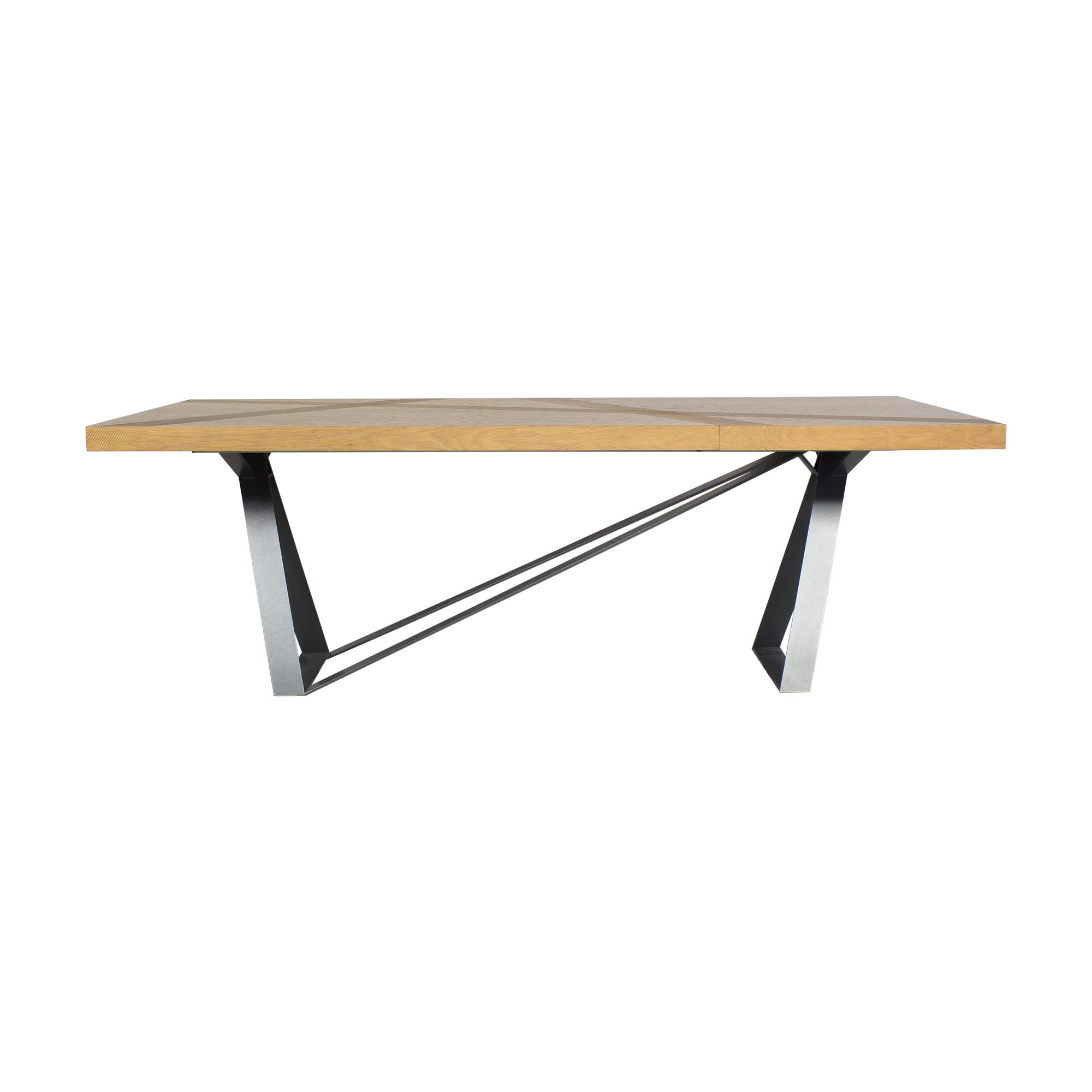 Roche Bobois Roche Bobois Track Extendable Dining Table nj