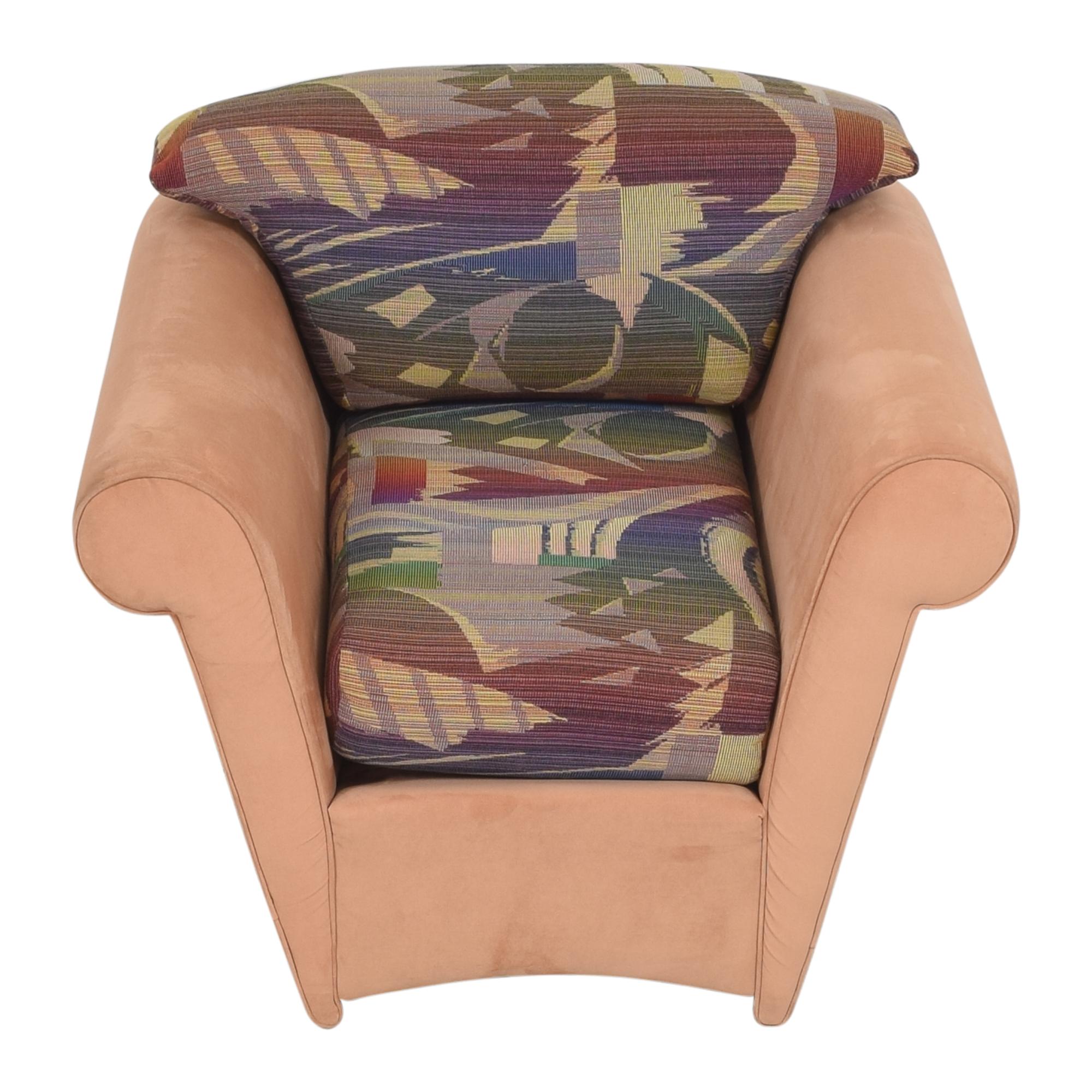 Maurice Villency Maurice Villency Roll Arm Accent Chair pa