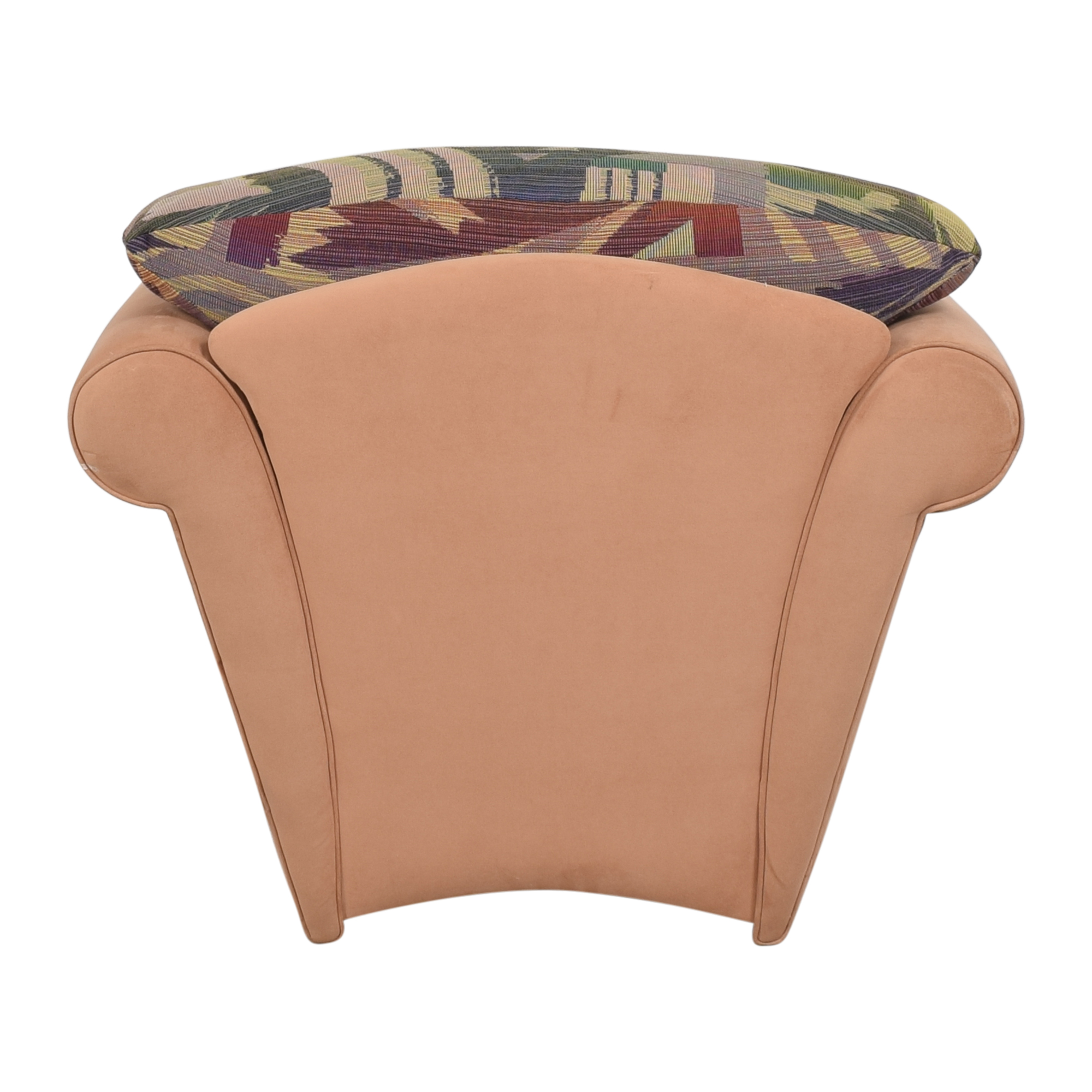 Maurice Villency Maurice Villency Roll Arm Accent Chair ct