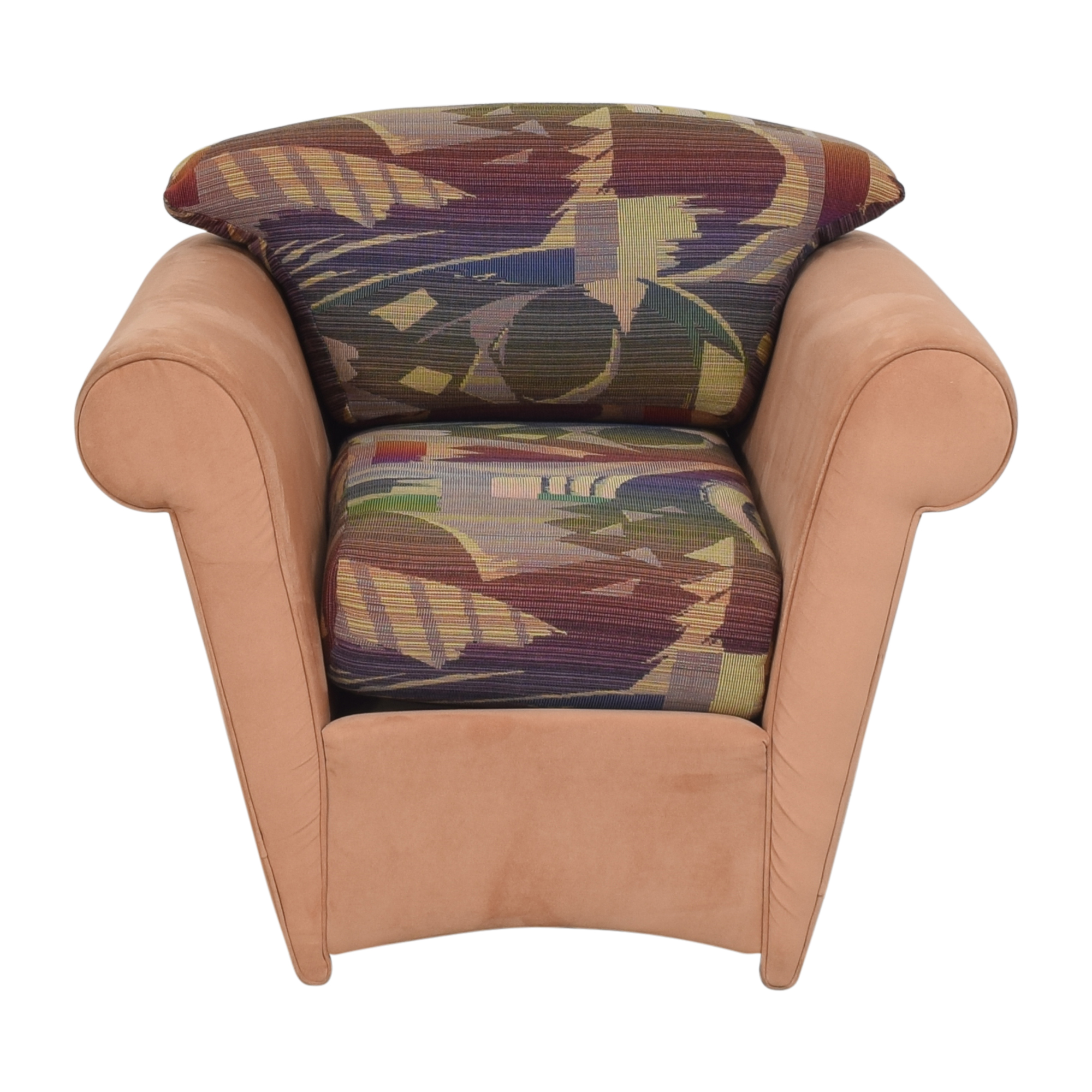 Maurice Villency Maurice Villency Roll Arm Accent Chair Chairs