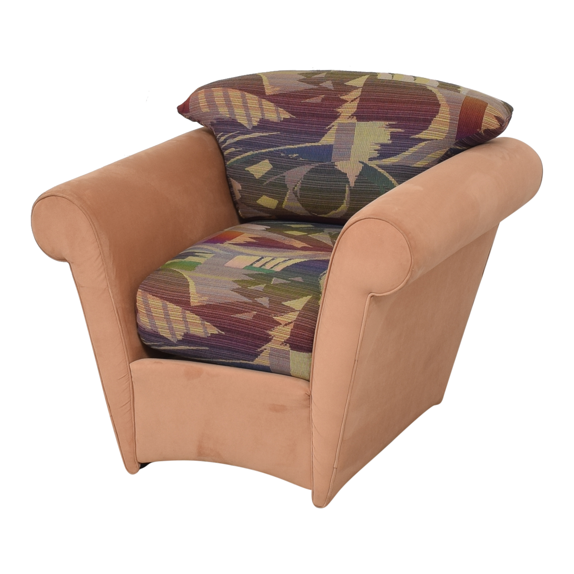 Maurice Villency Maurice Villency Roll Arm Accent Chair on sale