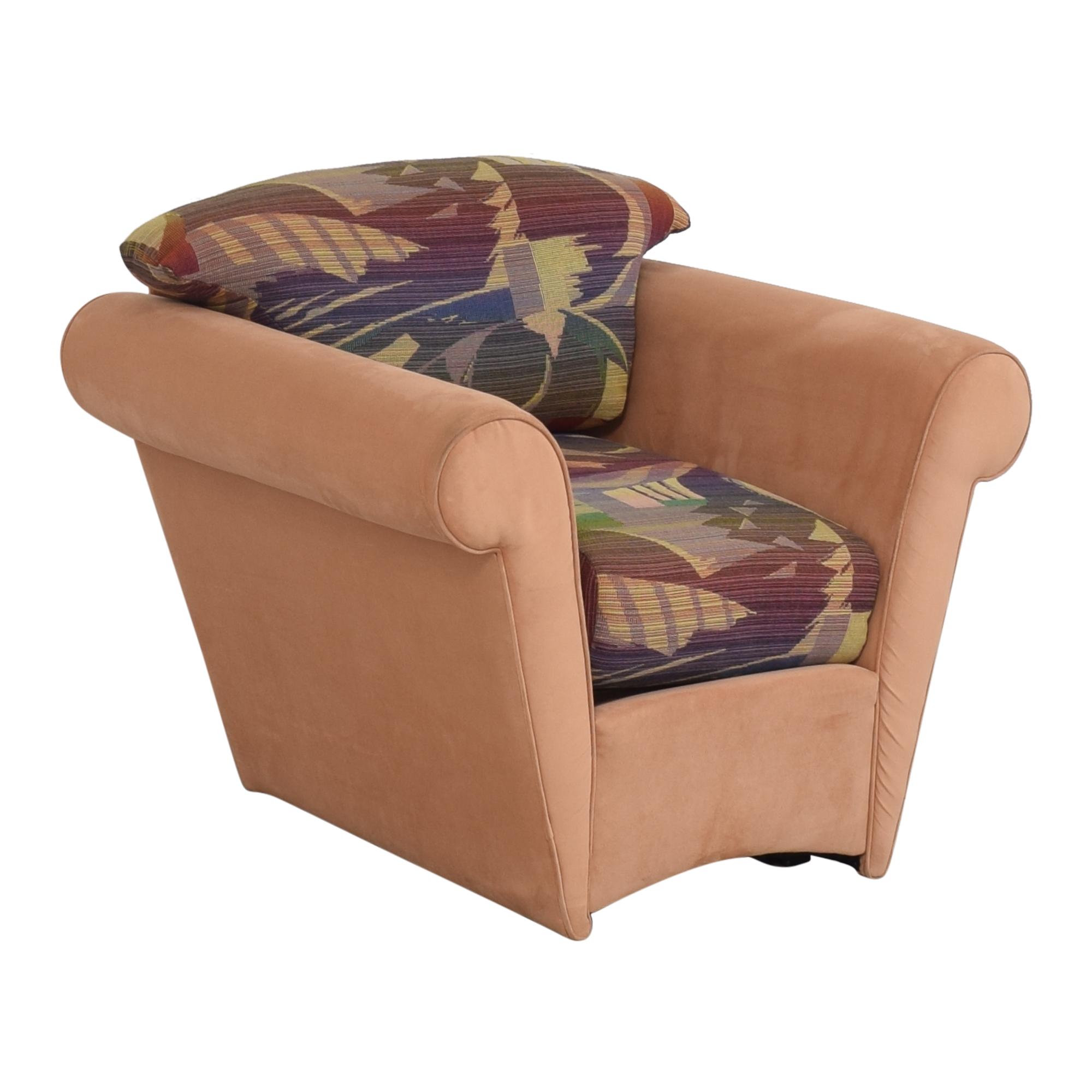 shop Maurice Villency Maurice Villency Roll Arm Accent Chair online