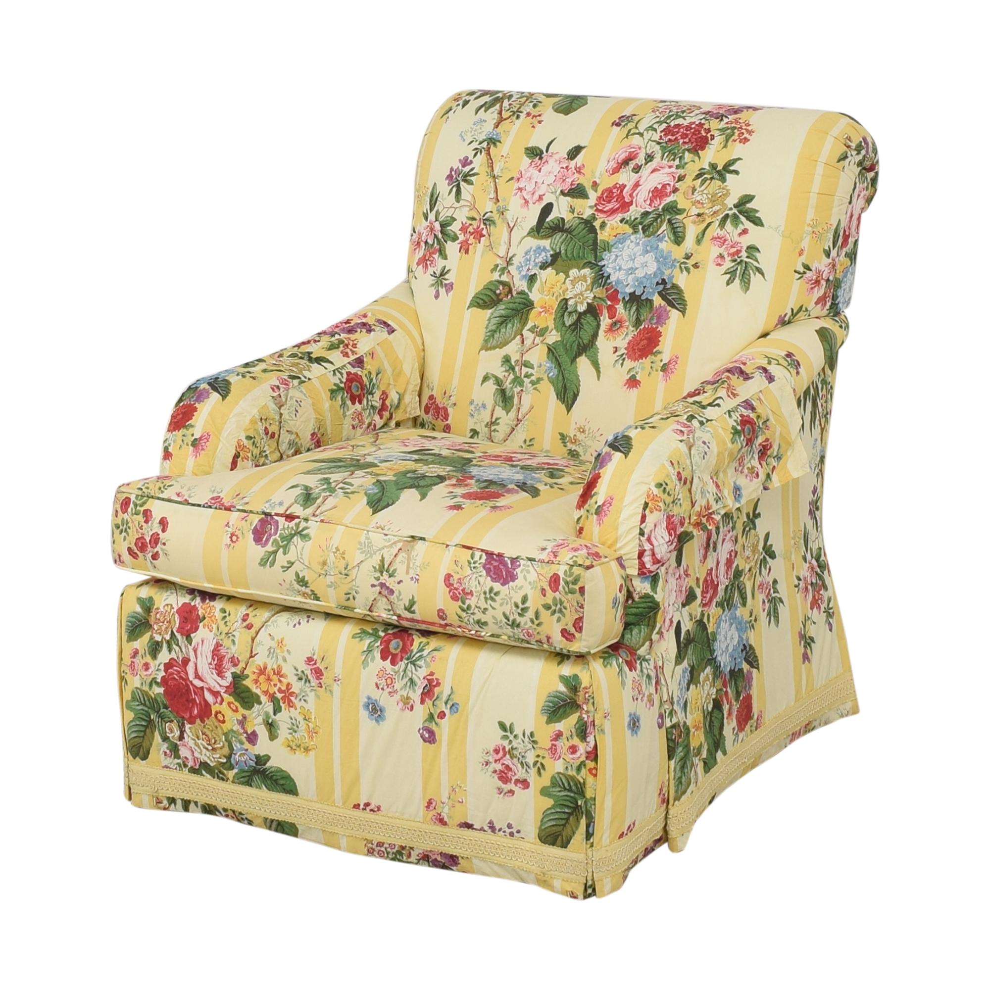 Pearson Custom Upholstered Arm Chair sale