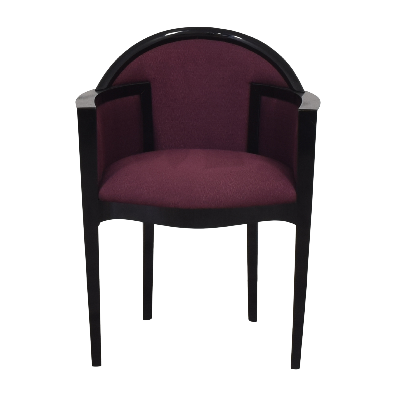 buy Maurice Villency Maurice Villency Barrel Arm Chair online