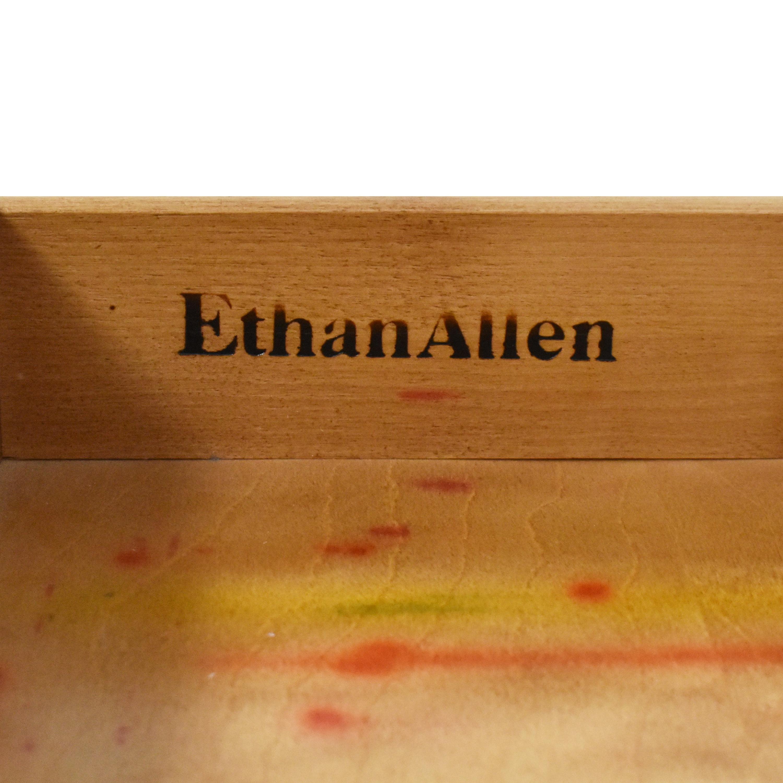 Ethan Allen Ethan Allen Georgian Court Drop Leaf End Table nj