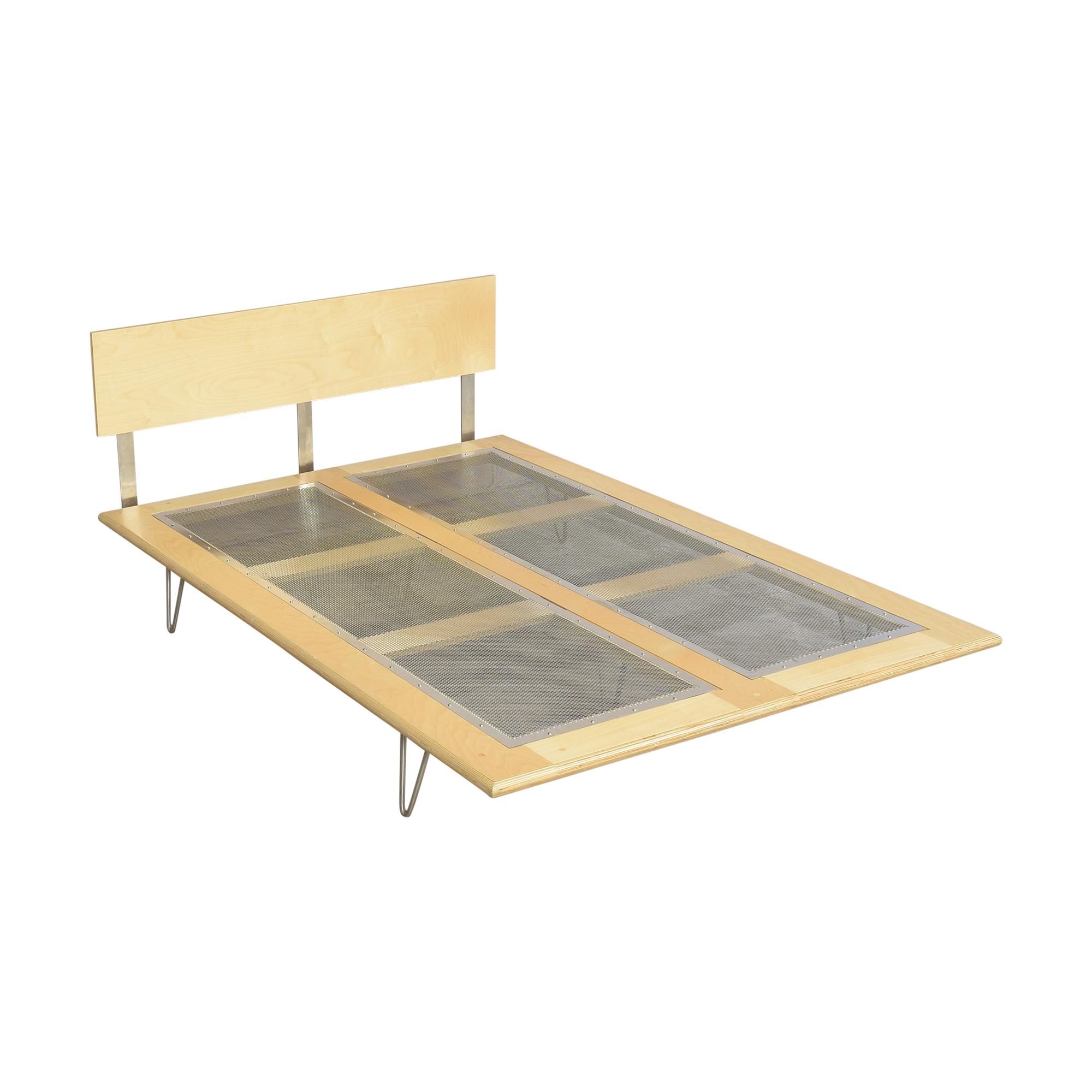 shop Modernica Case Study Furniture V Leg Full Bed Modernica Beds