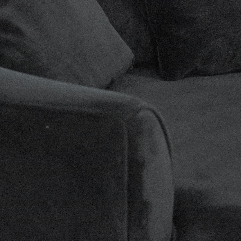 Joss & Main Joss & Main Wide Barrel Chair dimensions