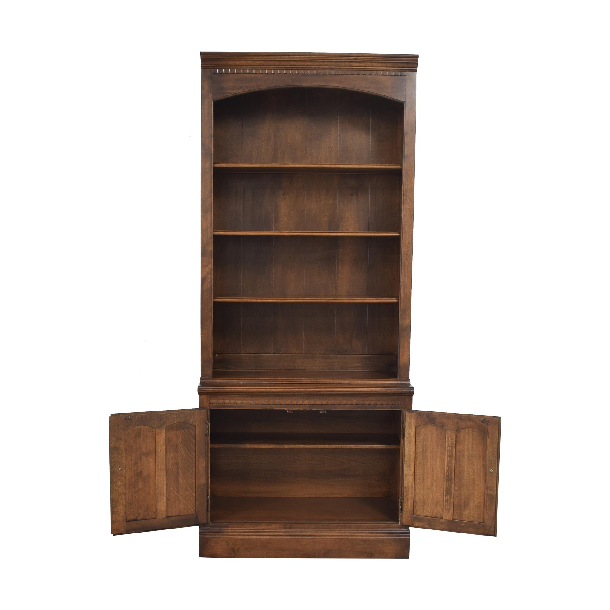 buy Ethan Allen Classic Manor Bookcase Ethan Allen Bookcases & Shelving