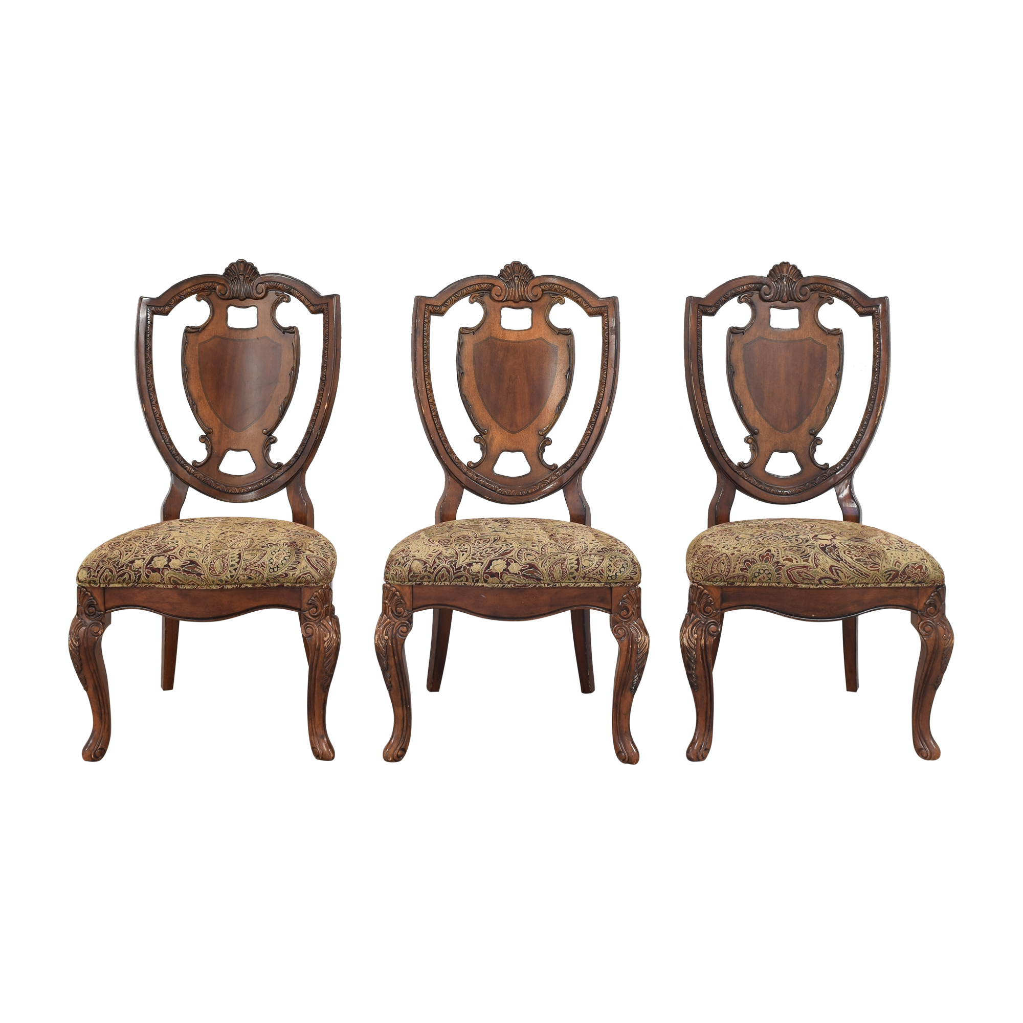 Macy's Macy's Shield Back Dining Chairs discount