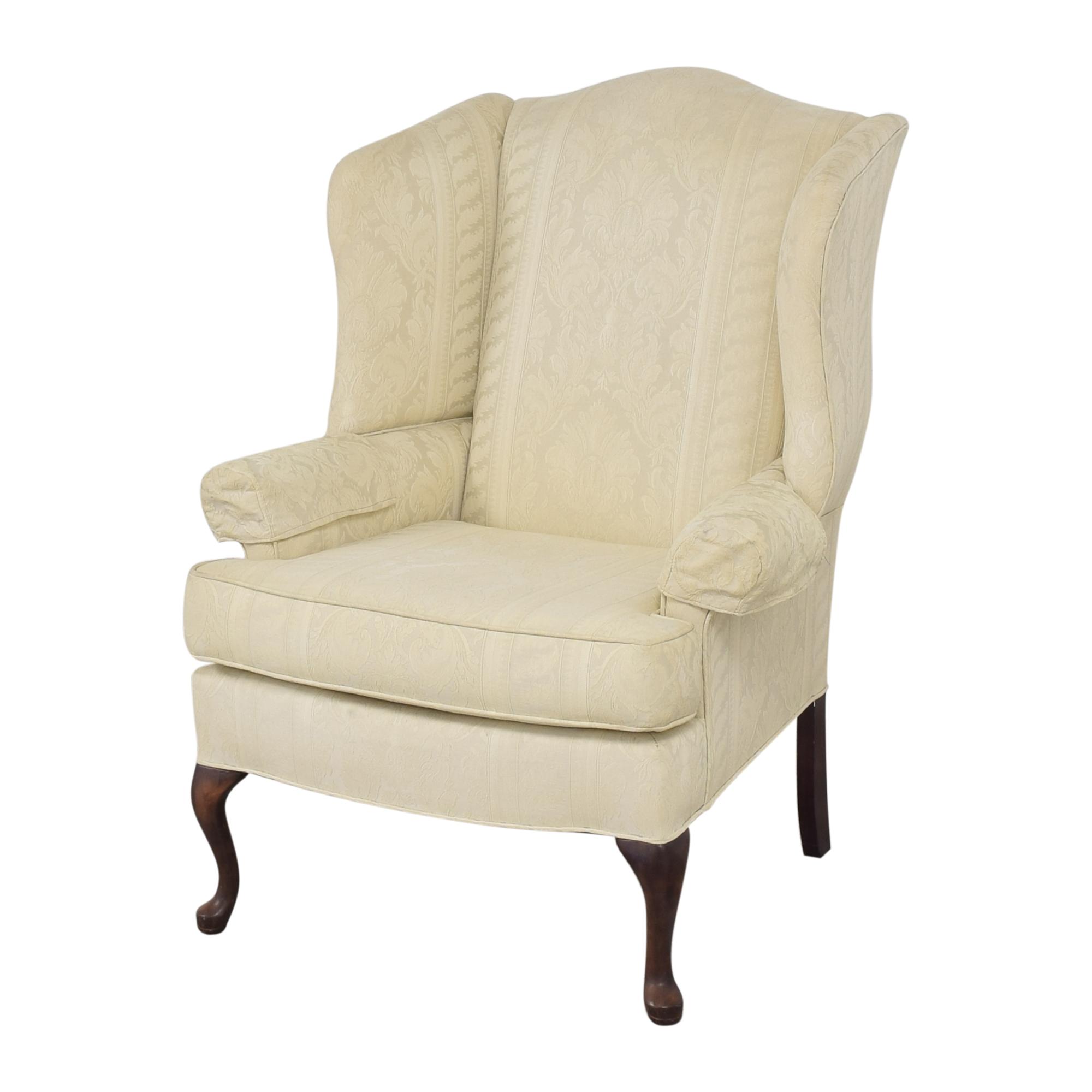 Hamilton House Hamilton House Wing Accent Chair  cream