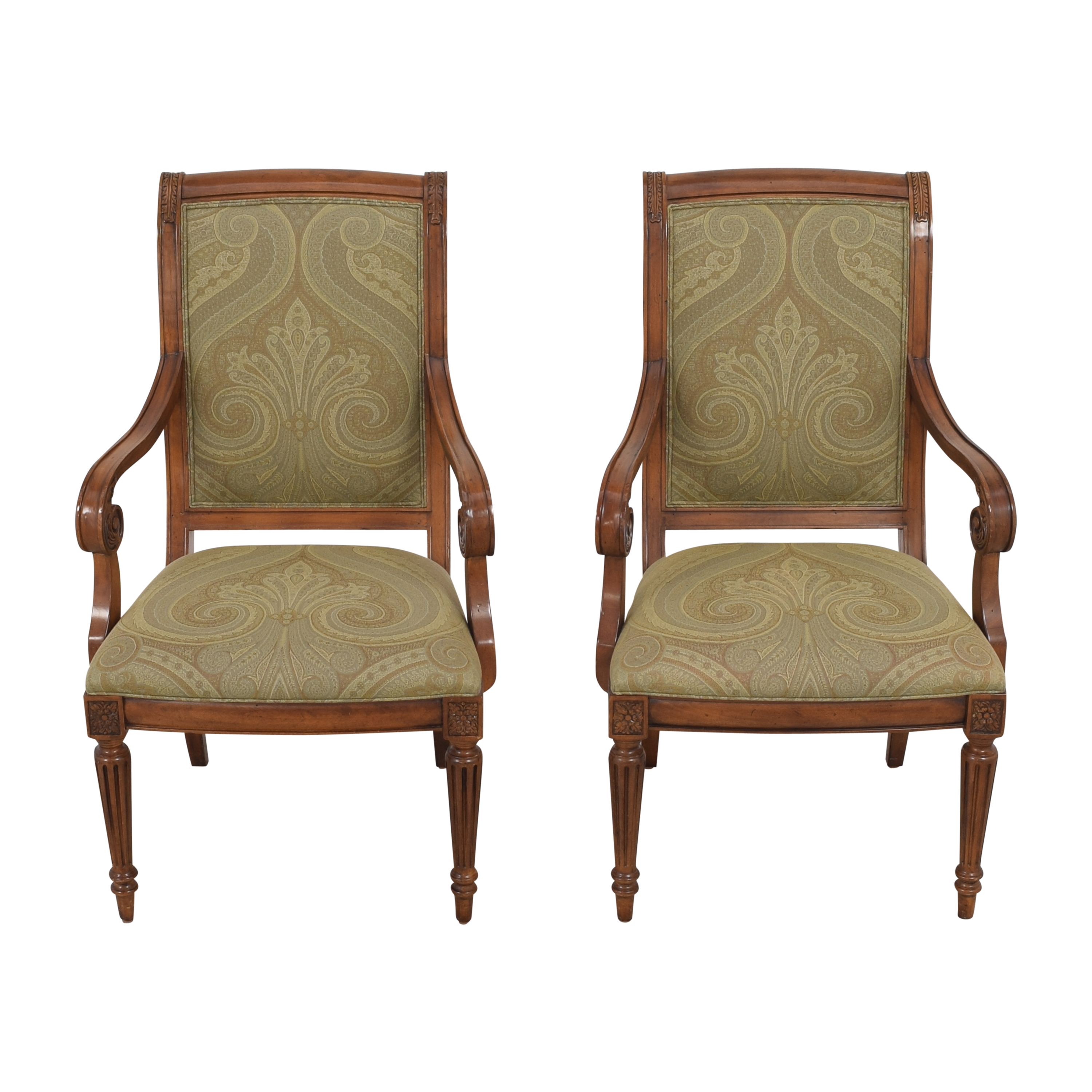 Ethan Allen Ethan Allen Townhouse Addison Dining Arm Chairs Chairs