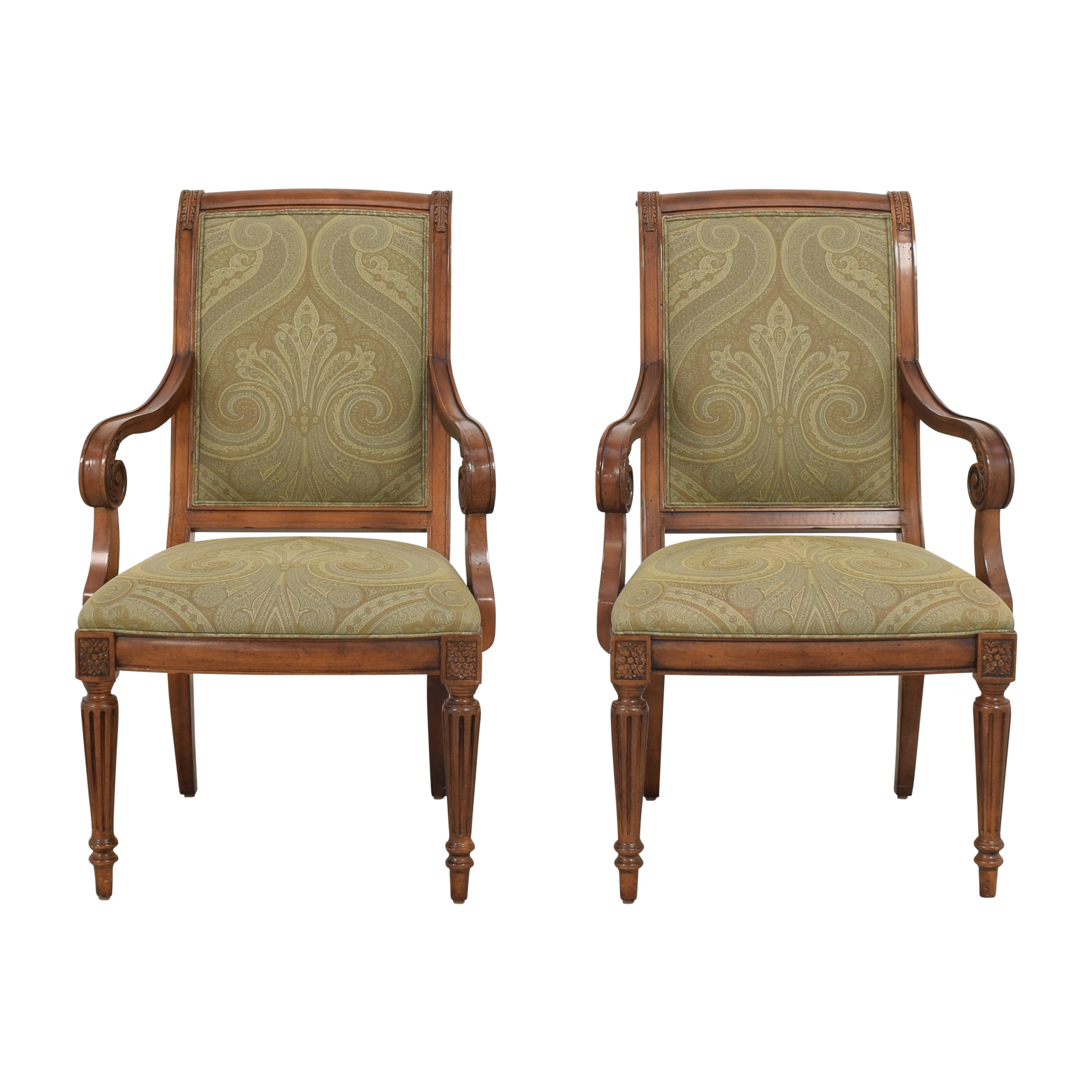 Ethan Allen Ethan Allen Townhouse Addison Dining Arm Chairs