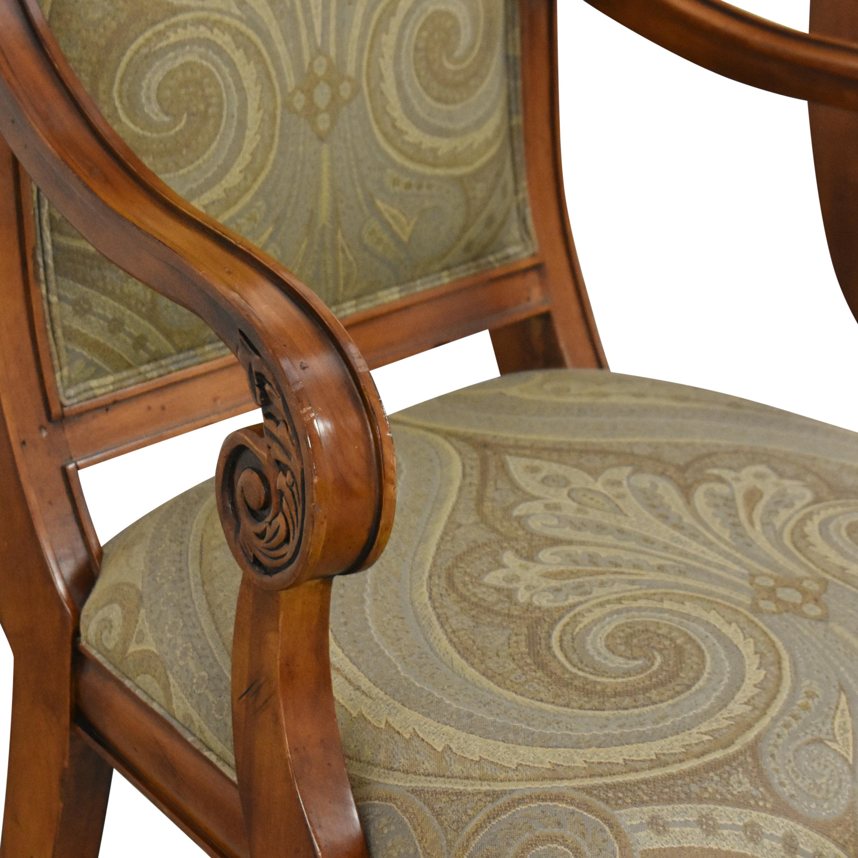 shop Ethan Allen Ethan Allen Townhouse Addison Dining Arm Chairs online