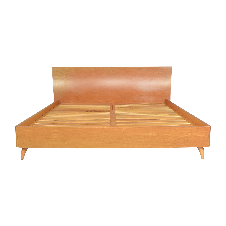 buy Maurice Villency Rapsody King Platform Bed Maurice Villency Bed Frames