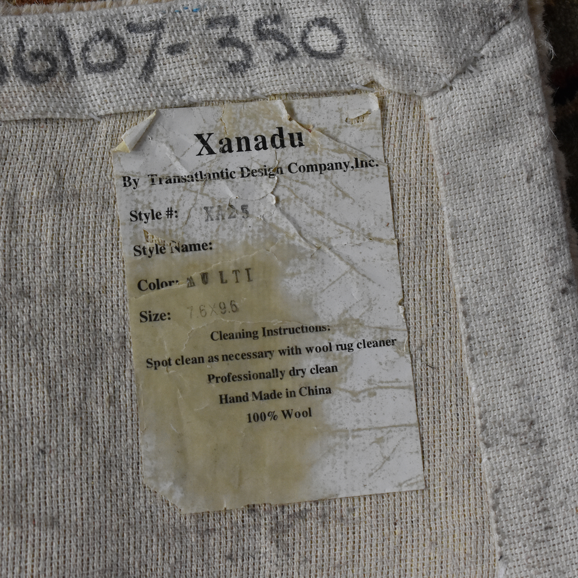 Transatlantic Design Company Transatlantic Design Company Xanadu Area Rug for sale