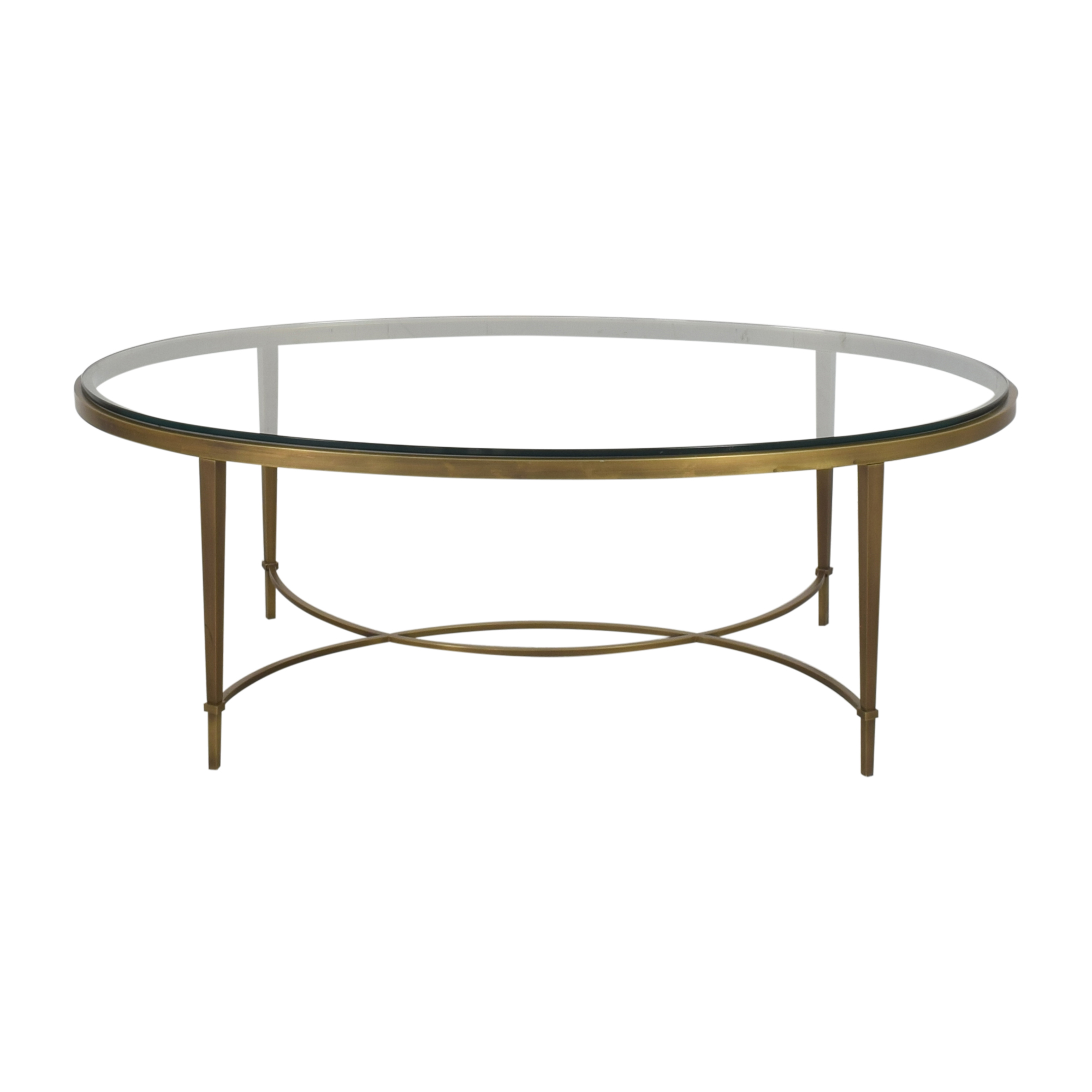shop Baker Furniture Baker Furniture Oval Coffee Table online