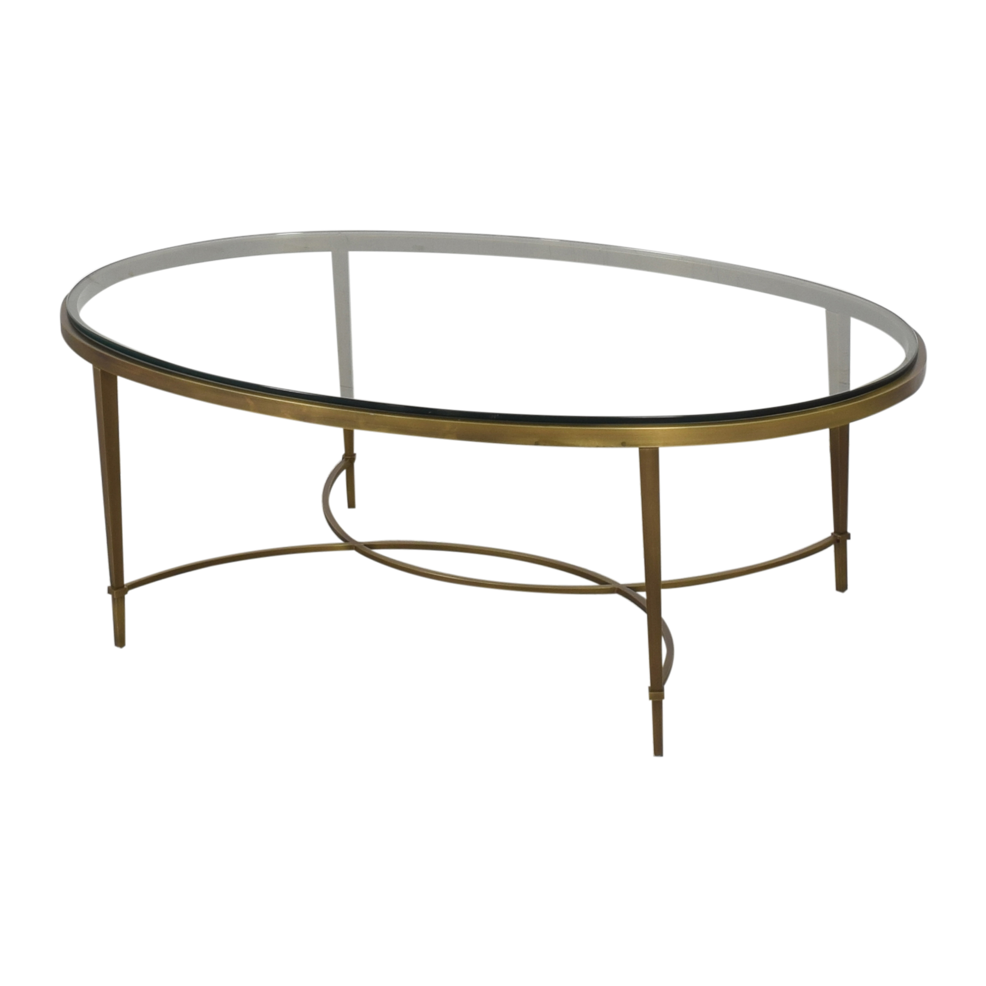 Baker Furniture Baker Furniture Oval Coffee Table coupon