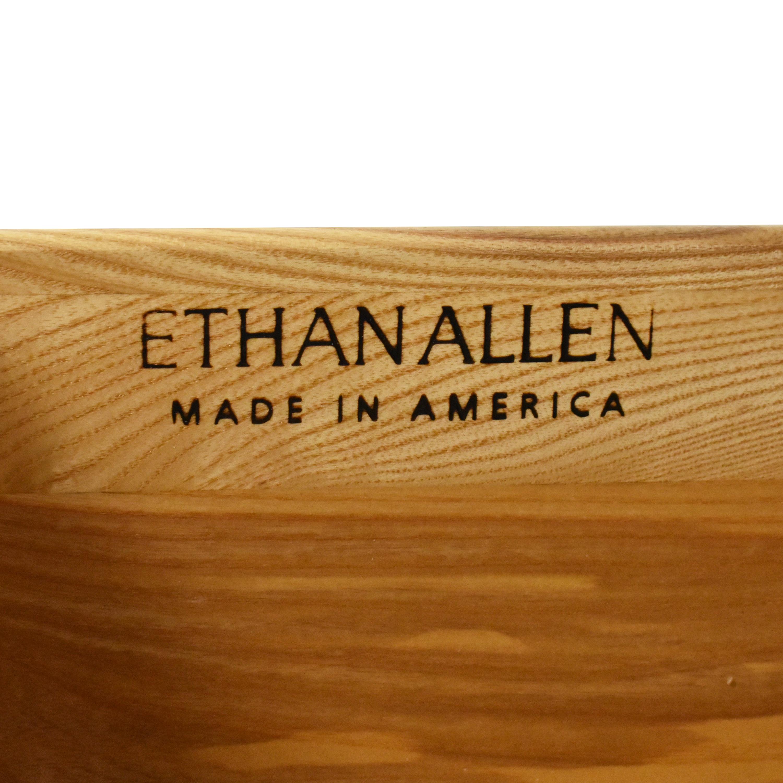 Ethan Allen Ethan Allen Bow Front Three Drawer Dresser second hand