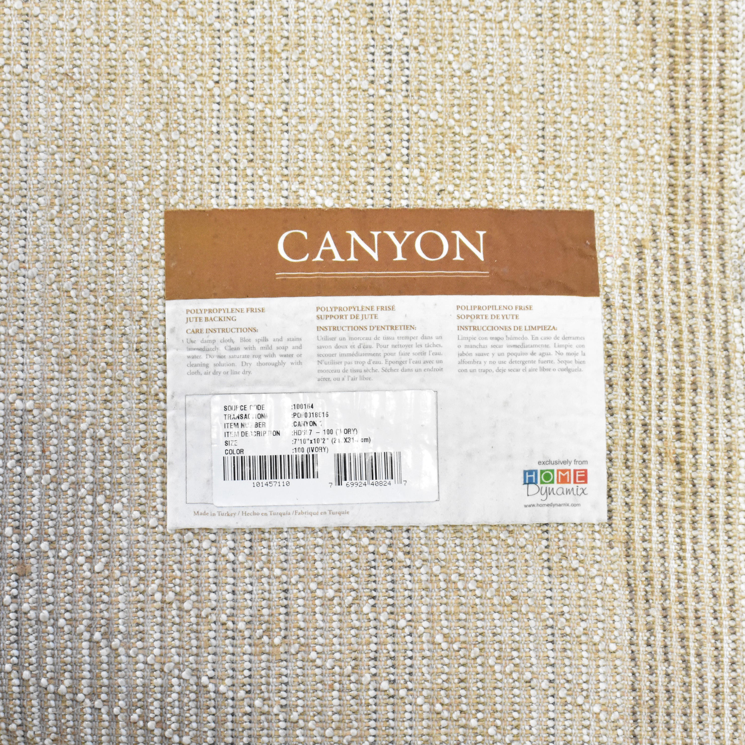 Home Dynamix Home Dynamix Canyon Henley Area Rug dimensions