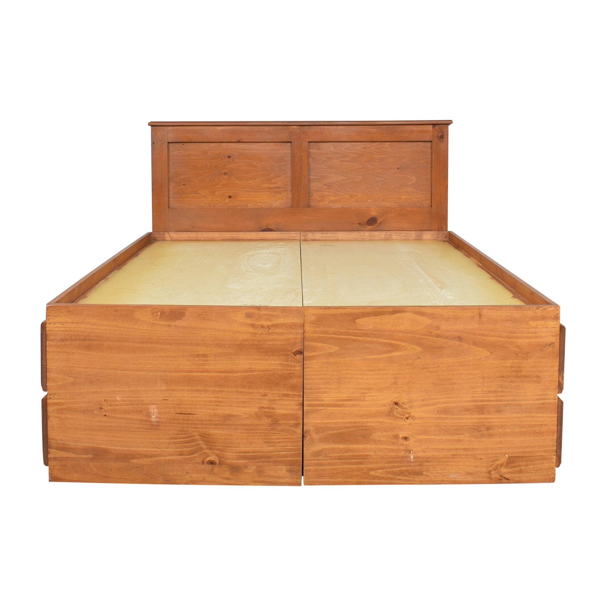 shop Gothic Cabinet Craft Gothic Cabinet Craft Full Storage Bed online