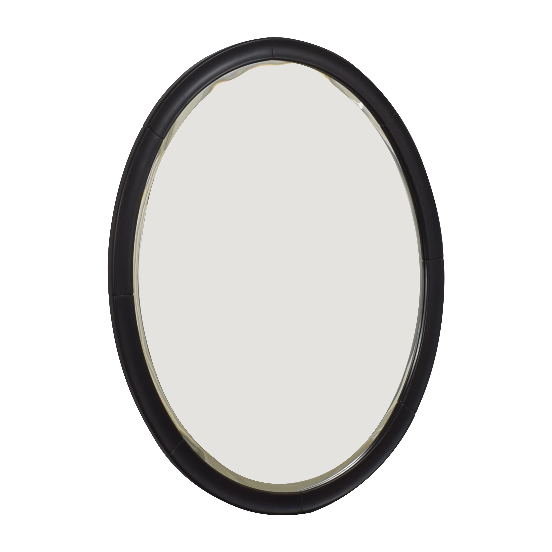 Framed Oval Mirror / Decor