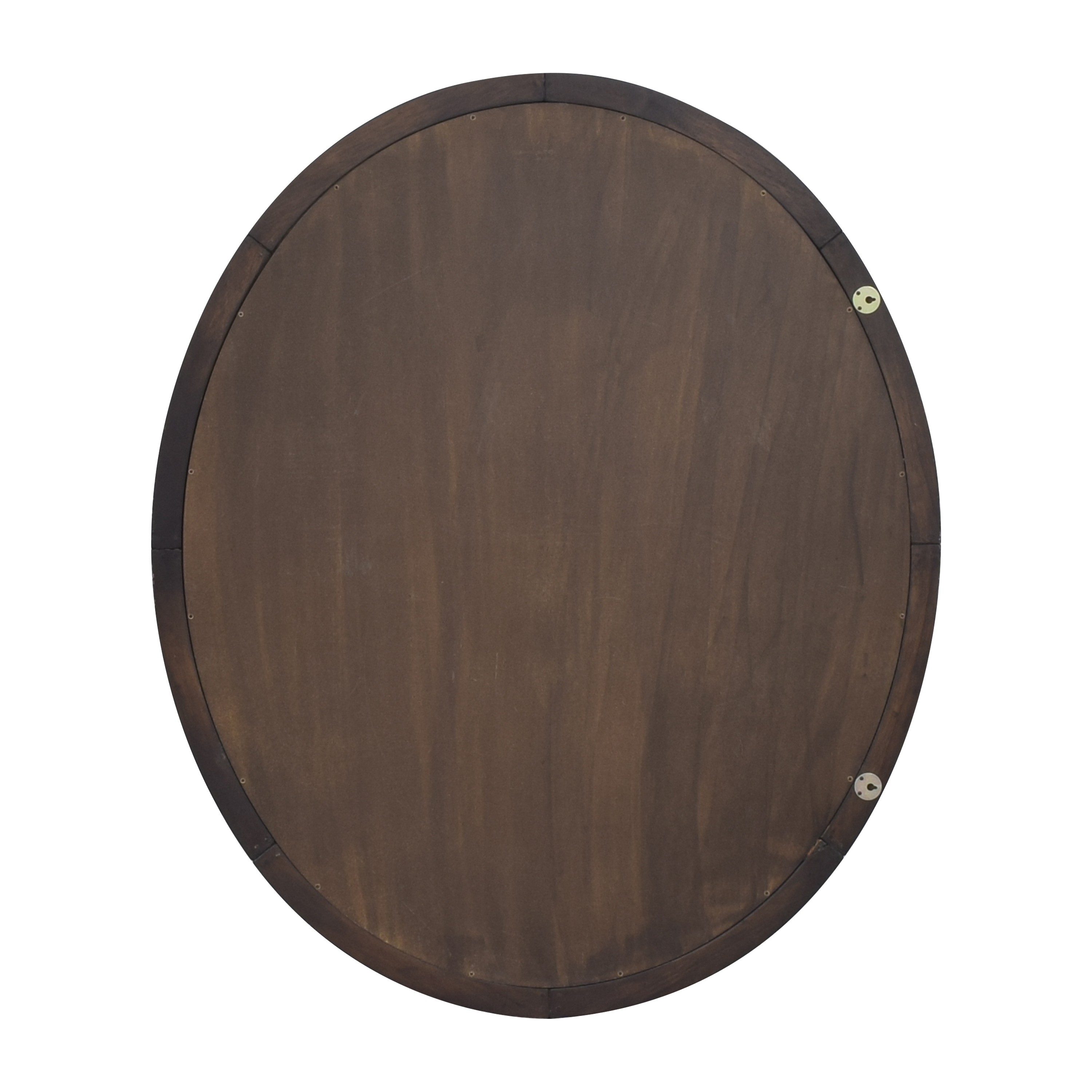 Framed Oval Mirror used