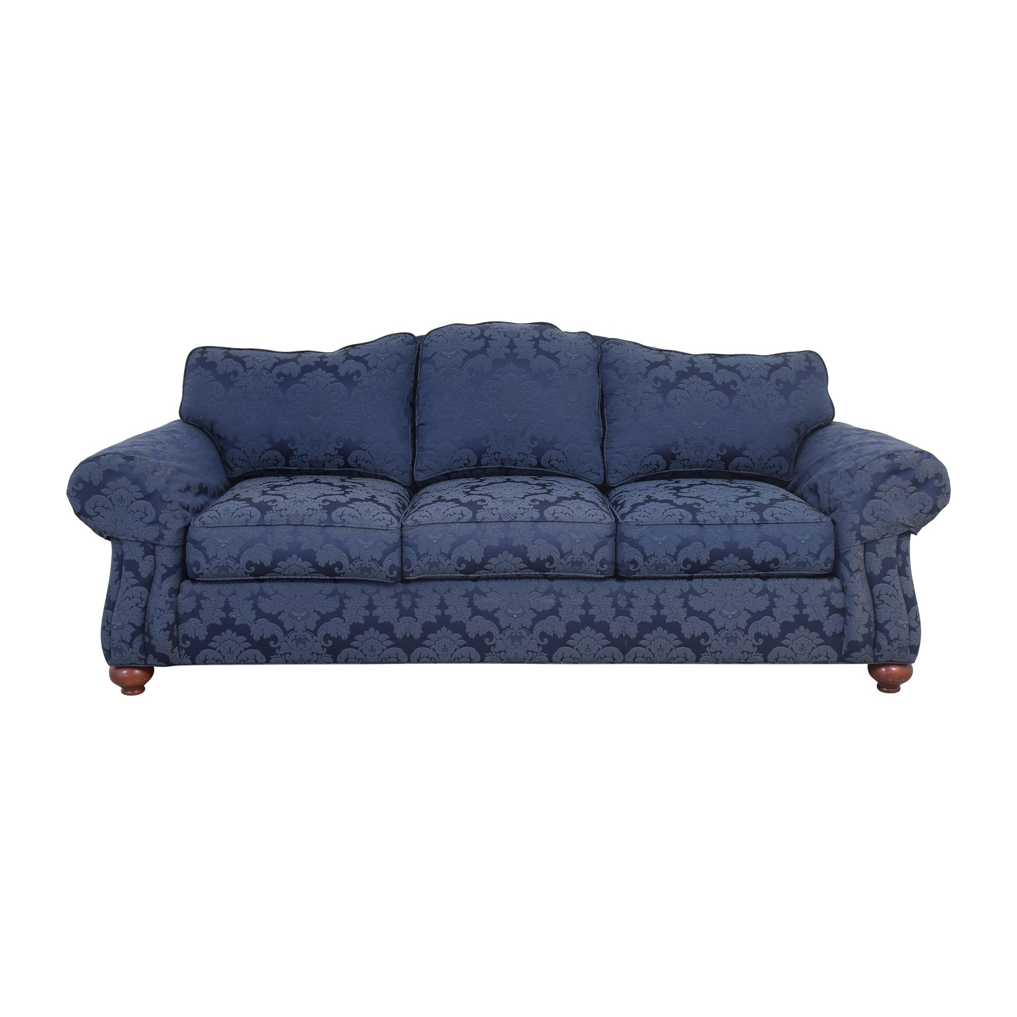 shop Ethan Allen Whitney Damask Sofa Ethan Allen Sofas