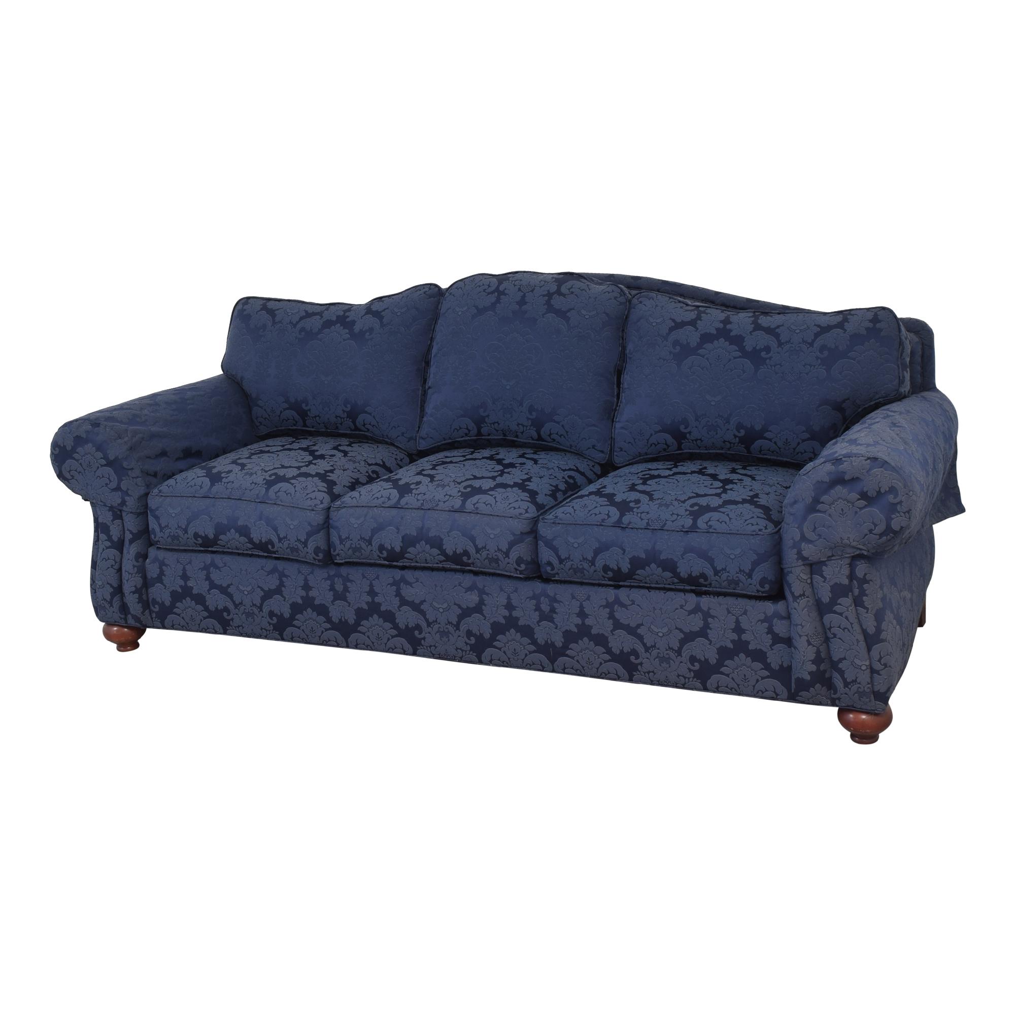 Ethan Allen Whitney Damask Sofa / Classic Sofas
