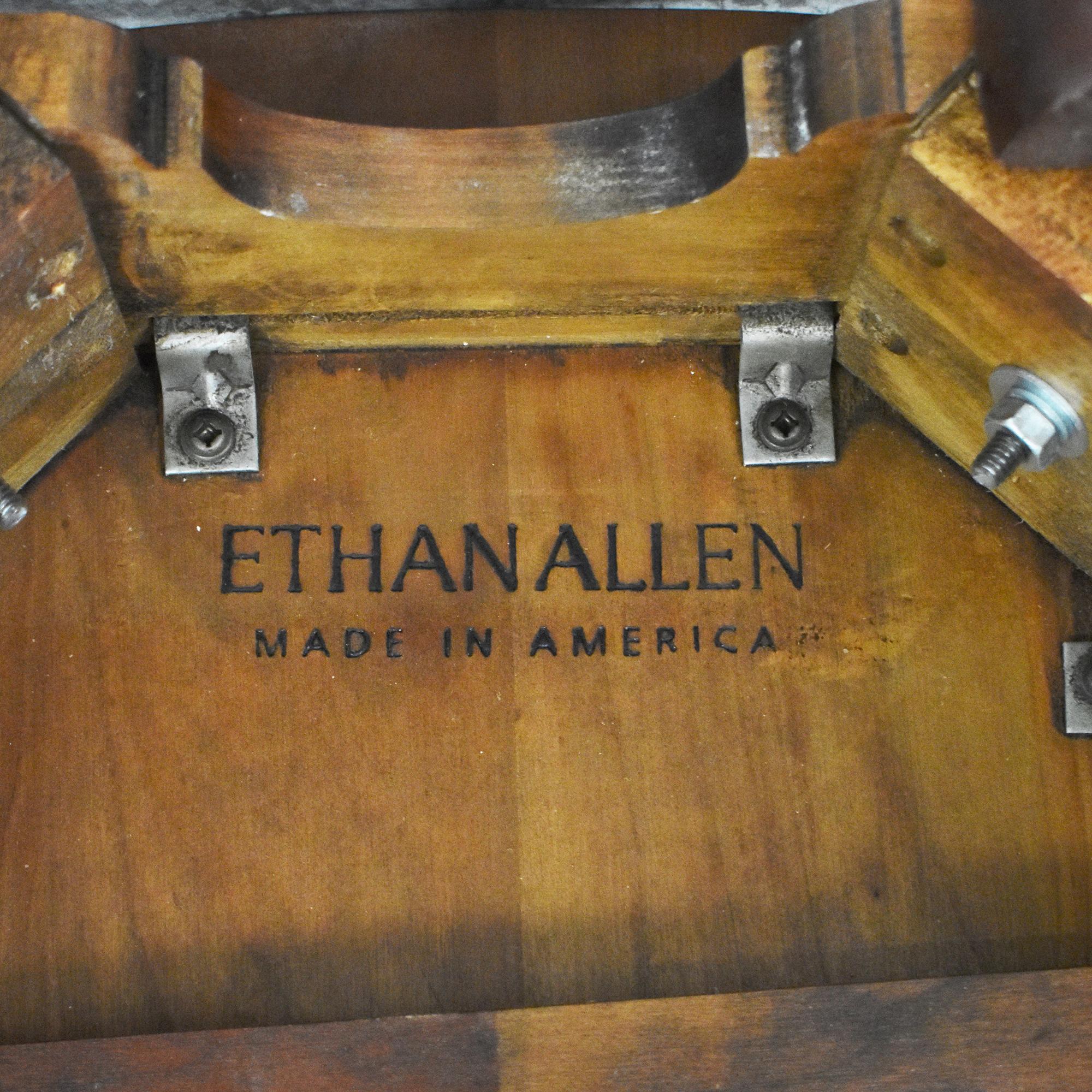 Ethan Allen Ethan Allen Georgian Court Drop Leaf End Table ma