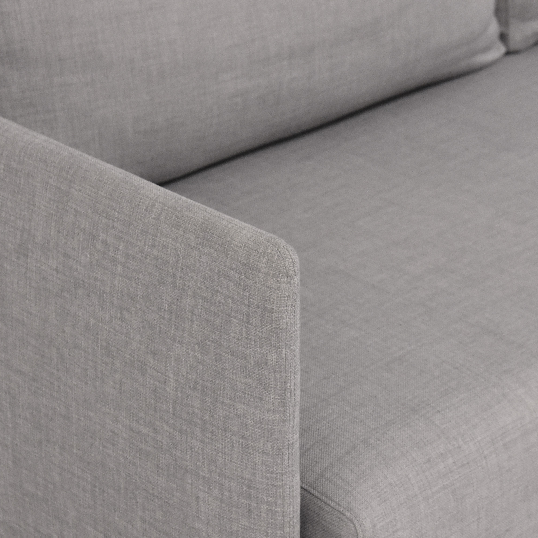 CB2 CB2 Tandom Sleeper Sofa discount