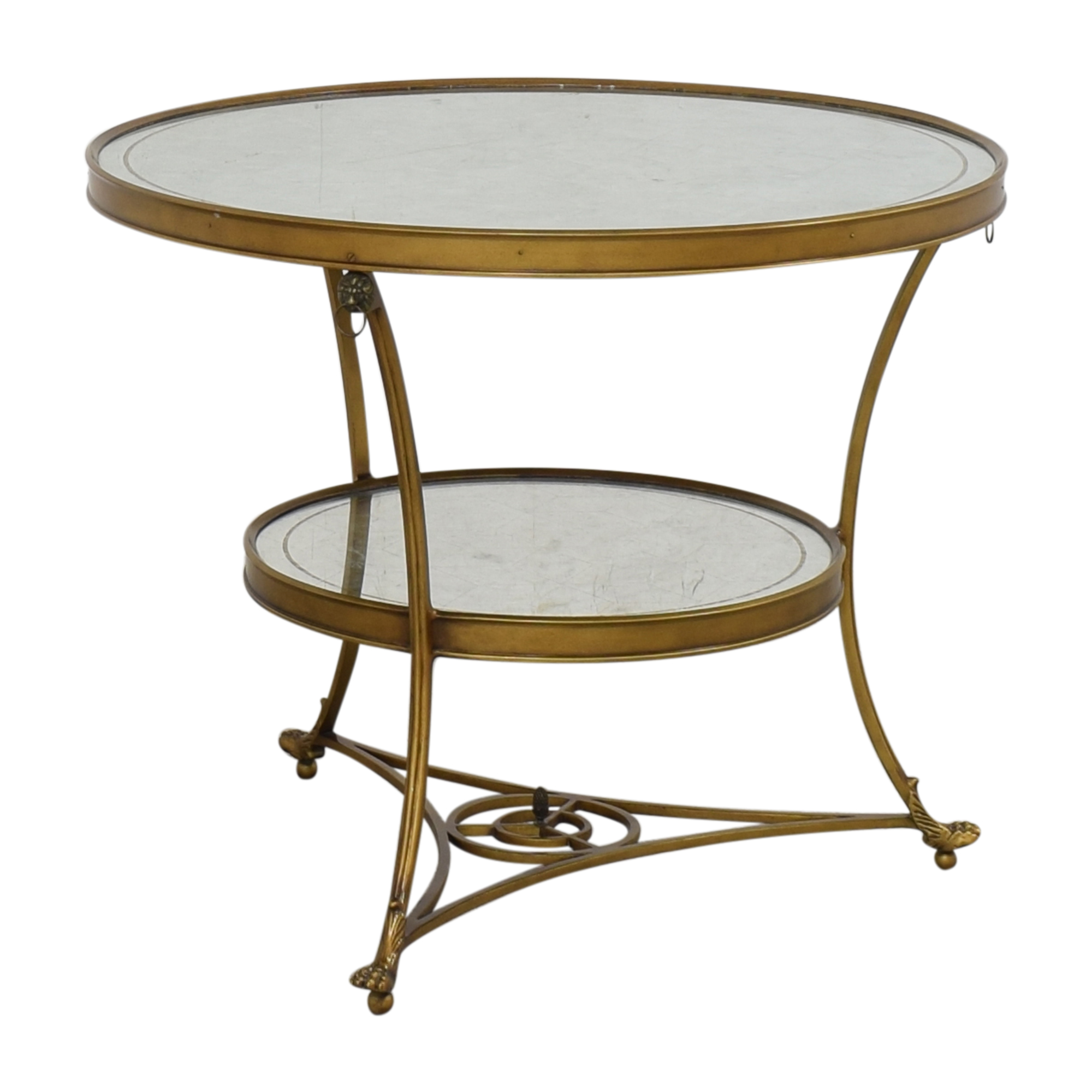 Mirrored Accent Table used