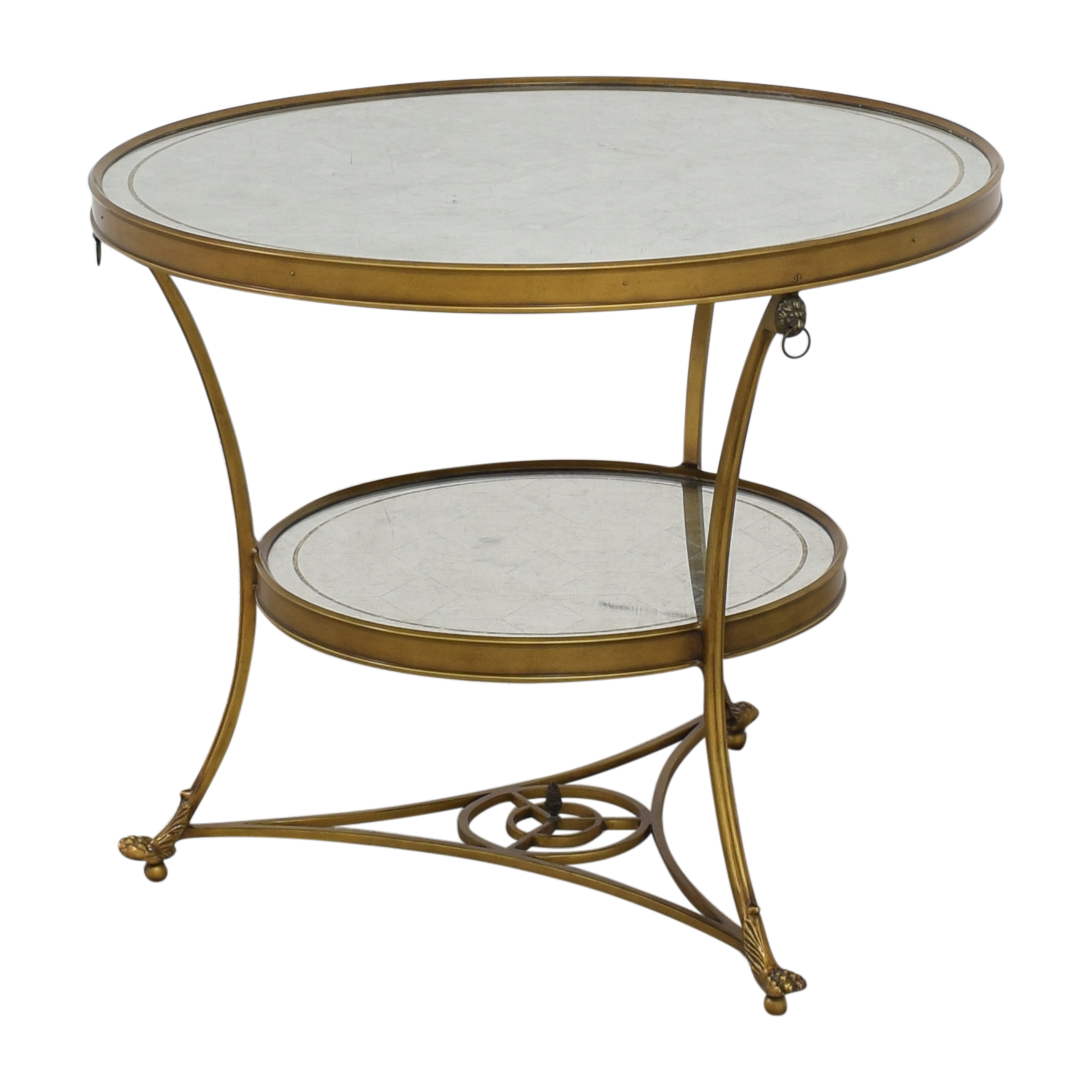 buy Mirrored Accent Table  Tables