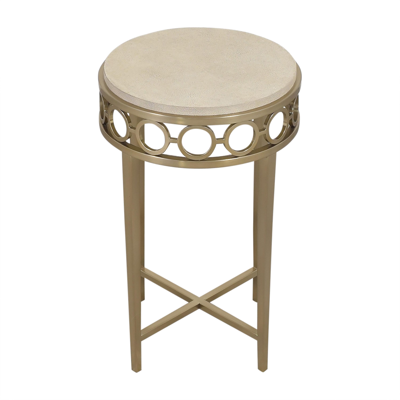 buy Bernhardt Round Chairside Table Bernhardt Accent Tables