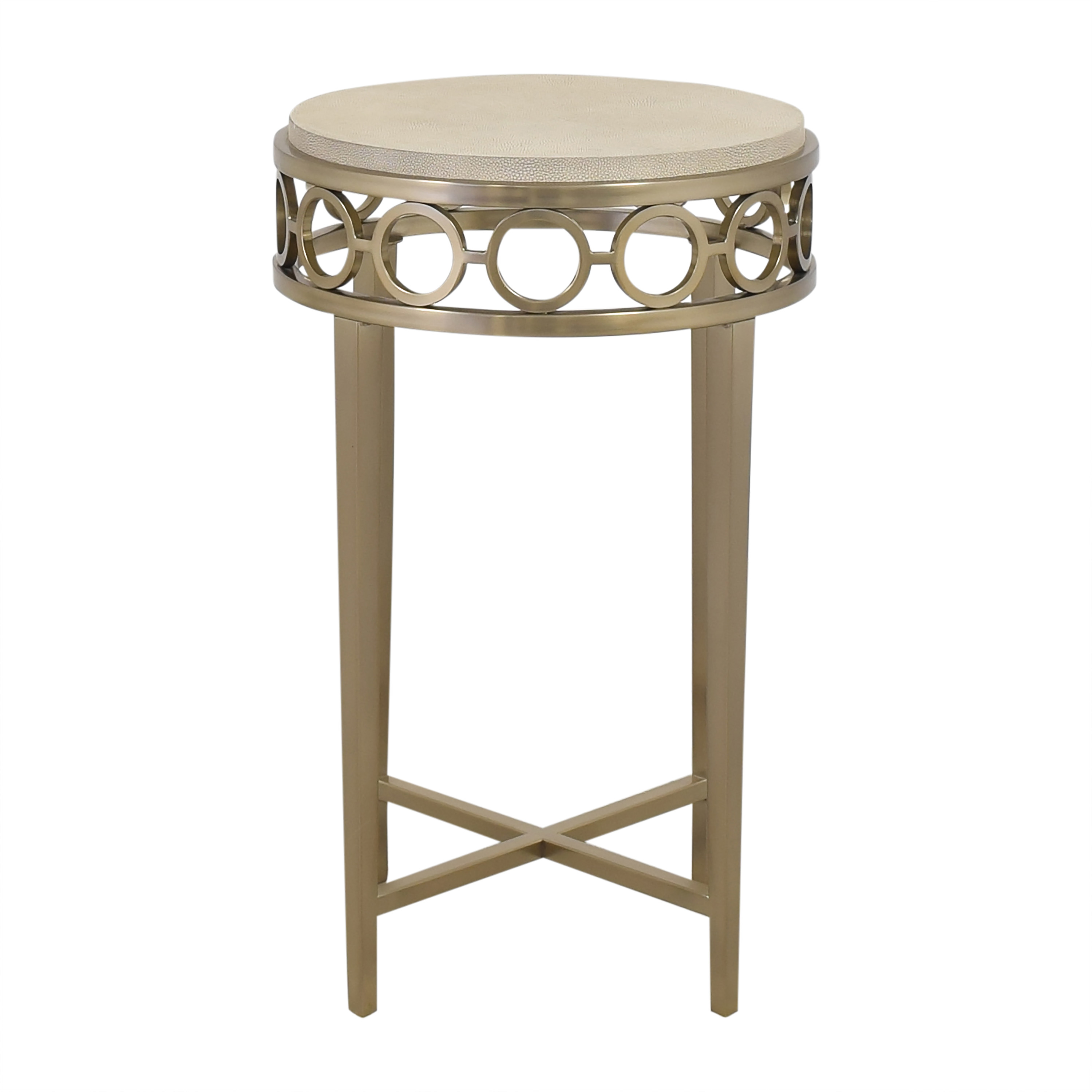 Bernhardt Round Chairside Table / Tables
