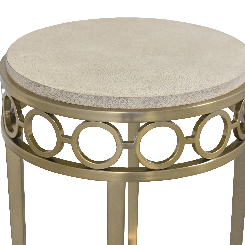 shop Bernhardt Round Chairside Table Bernhardt