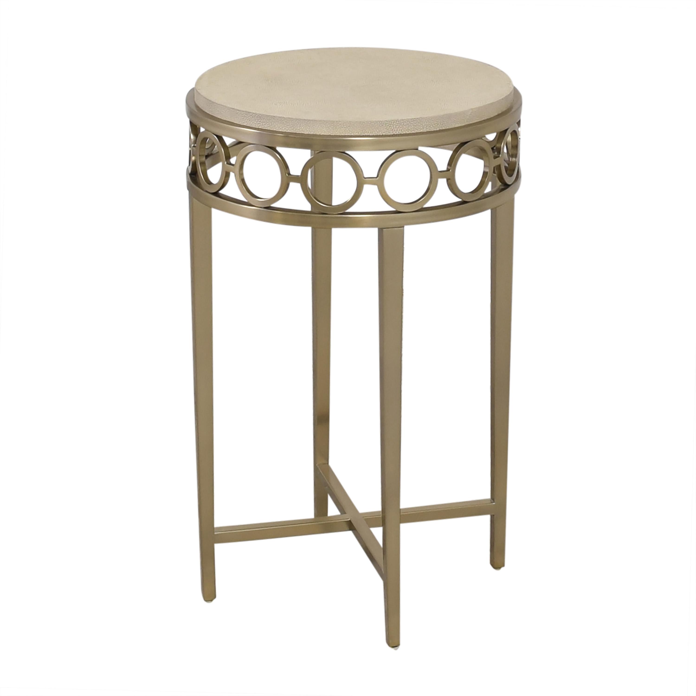 Bernhardt Bernhardt Round Chairside Table dimensions