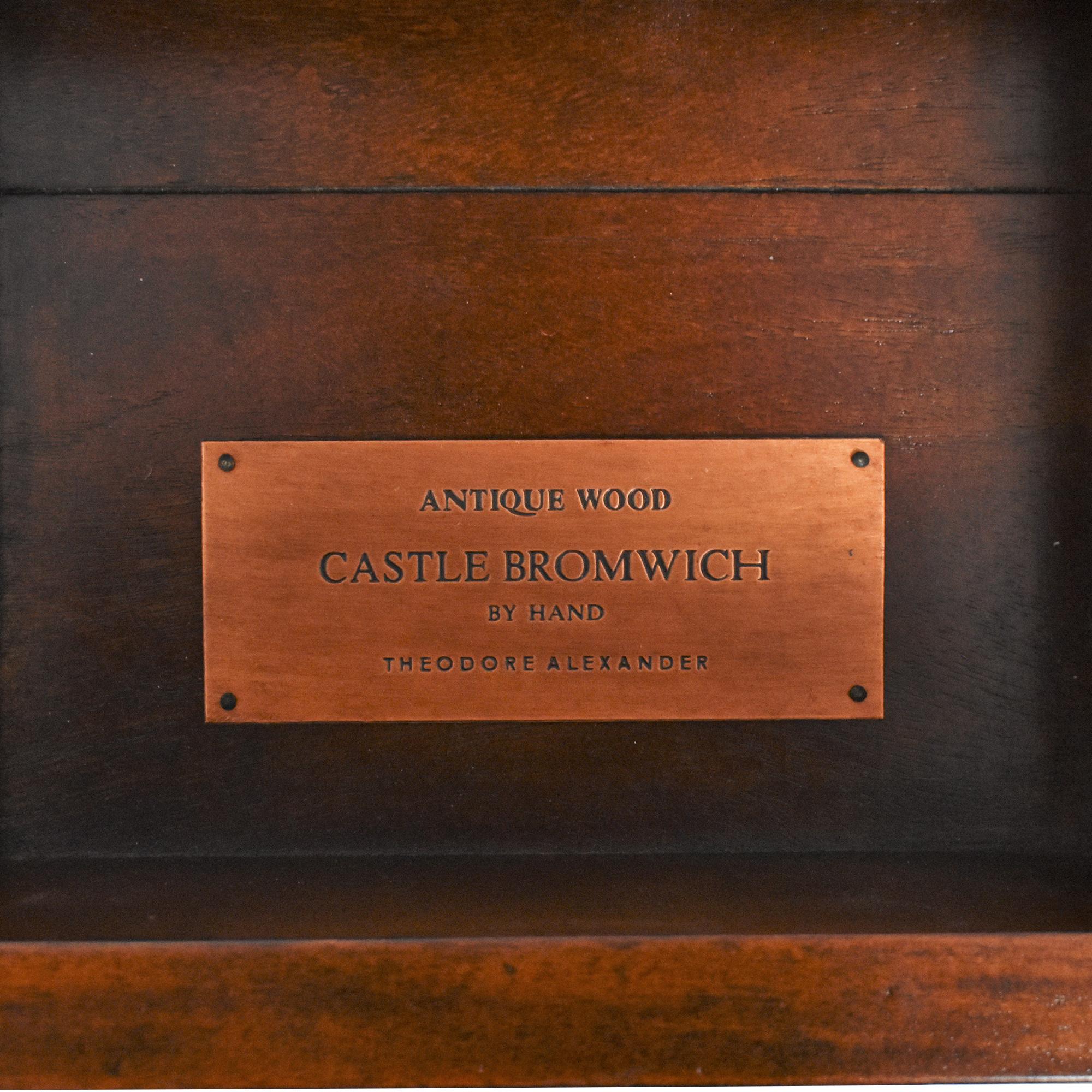shop Theodore Alexander Theodore Alexander Castle Bromwich Console  online