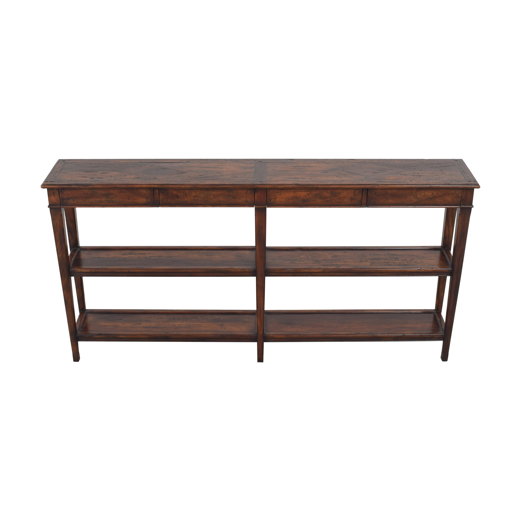 shop Theodore Alexander Castle Bromwich Console  Theodore Alexander Tables