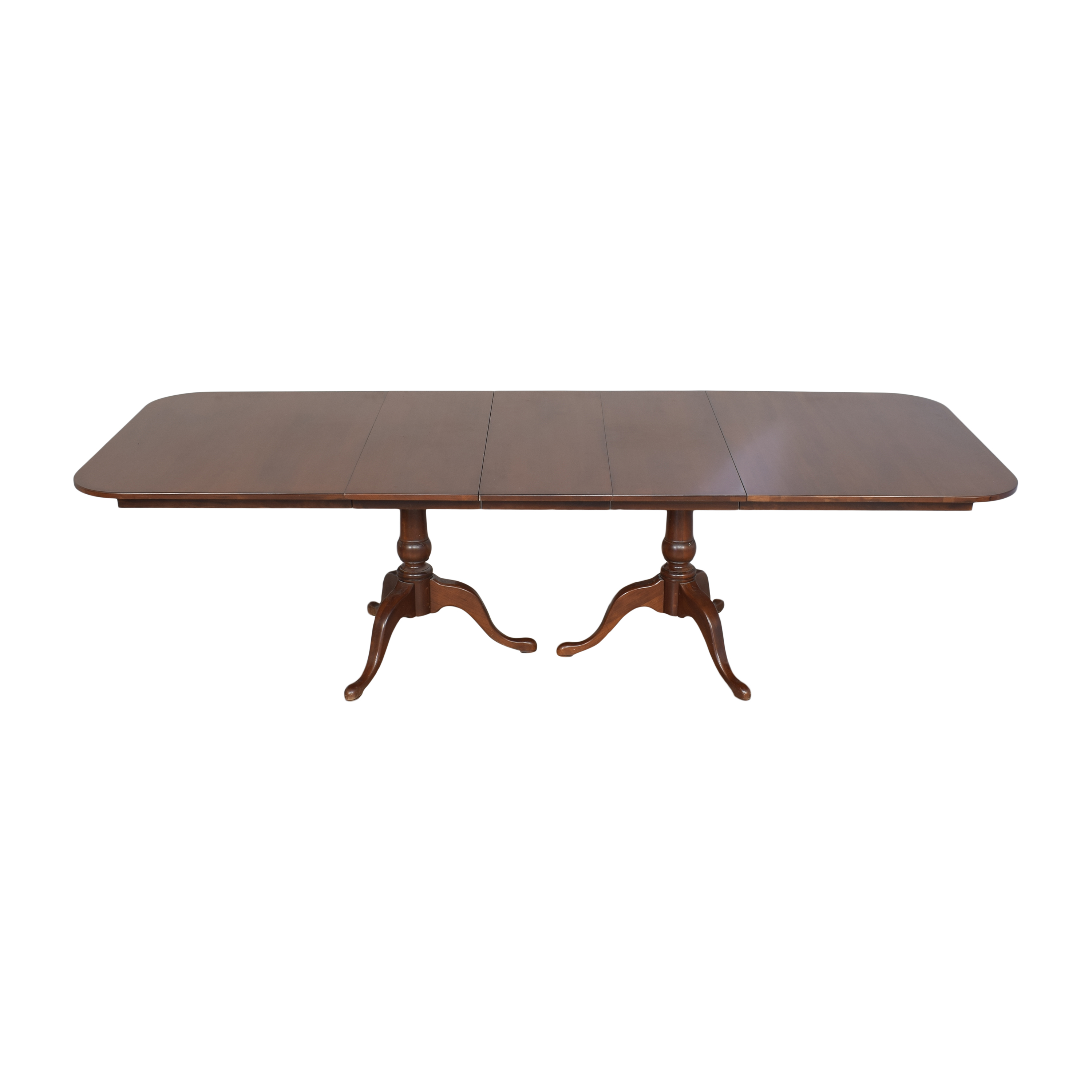 Hitchcock Extendable Double Pedestal Dining Table Hitchcock