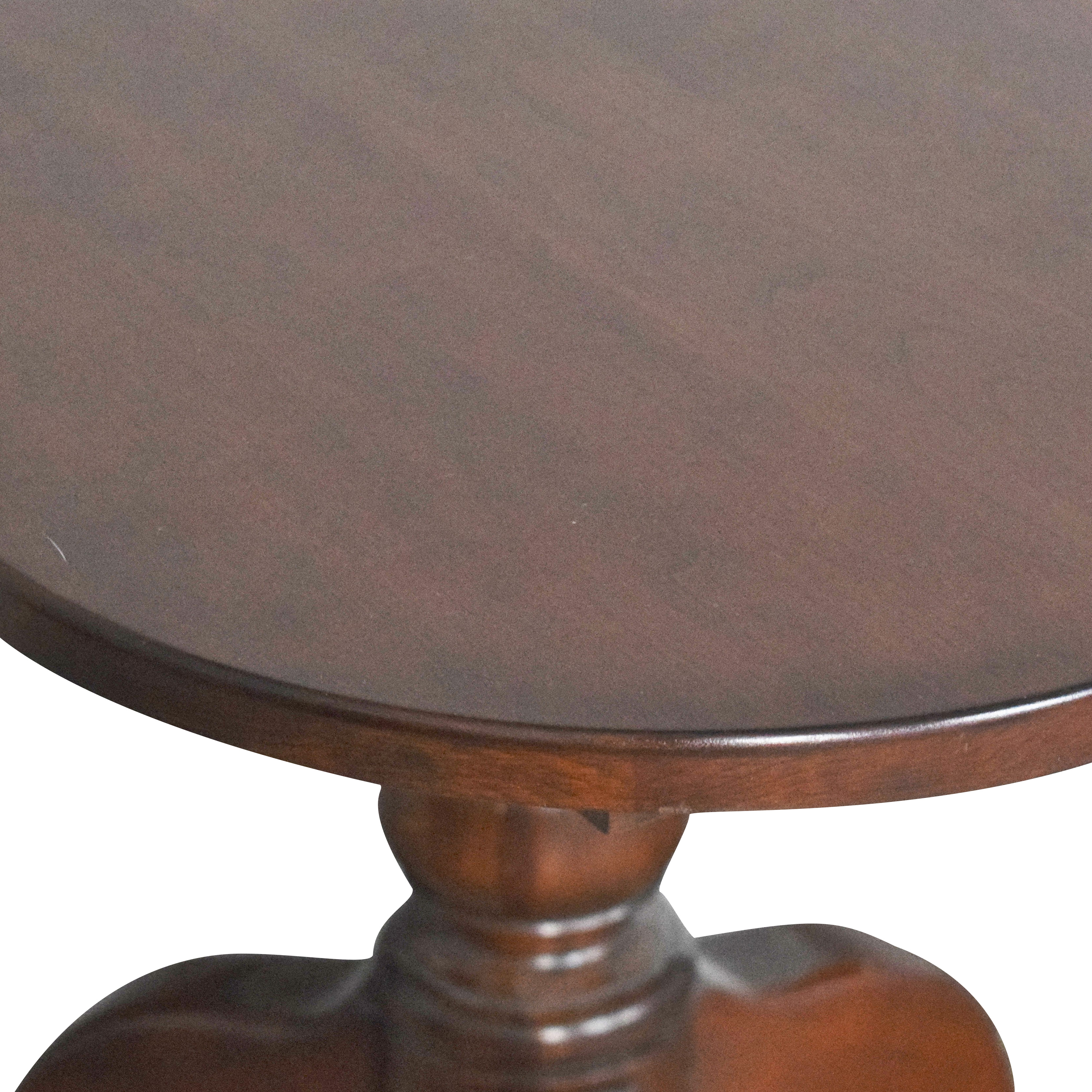 Hitchcock Hitchcock Extendable Double Pedestal Dining Table
