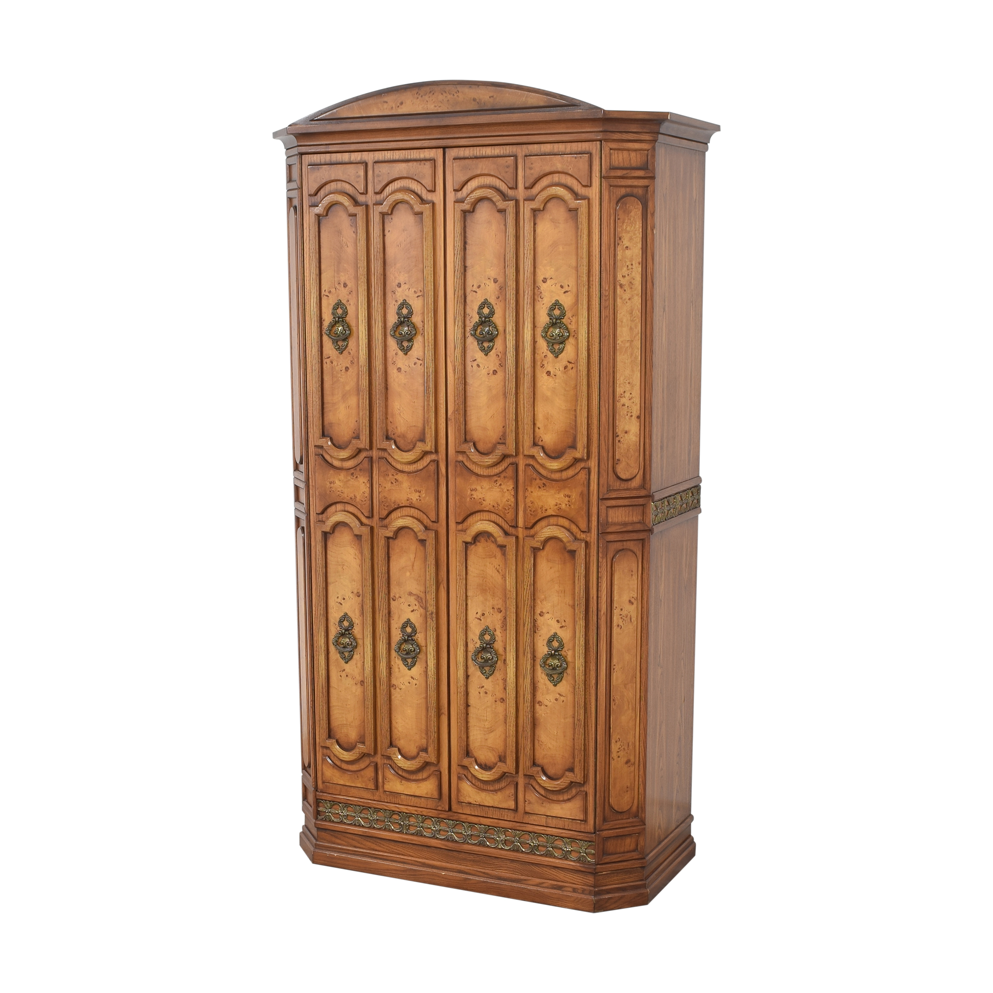 Two Door Armoire with Mirror pa