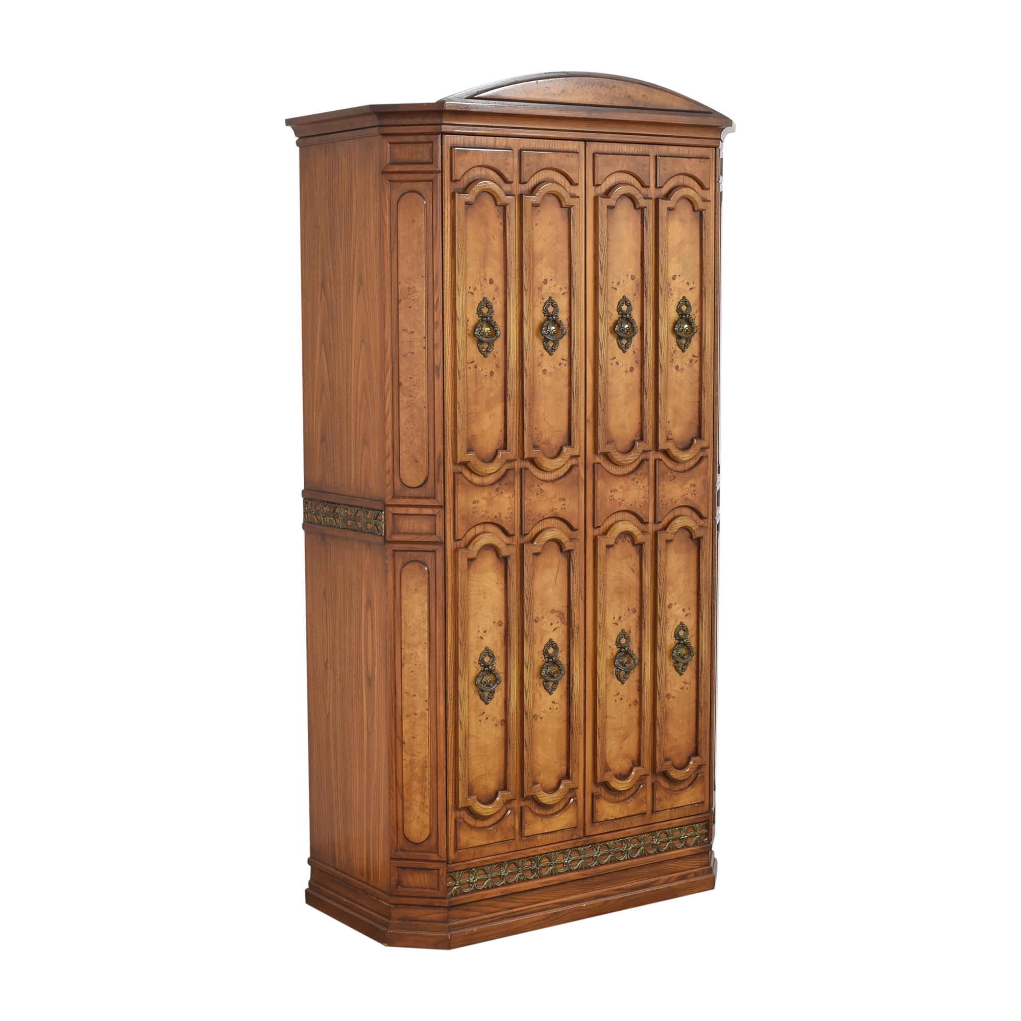 Two Door Armoire with Mirror discount