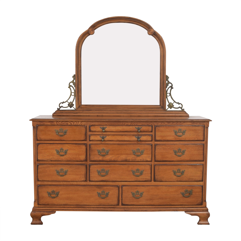 buy Drexel Heritage Royal Country Retreats Dresser with Mirror Drexel Heritage Storage