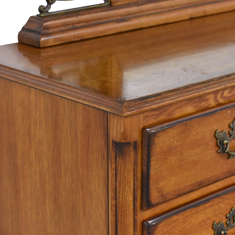 Drexel Heritage Drexel Heritage Royal Country Retreats Dresser with Mirror brown