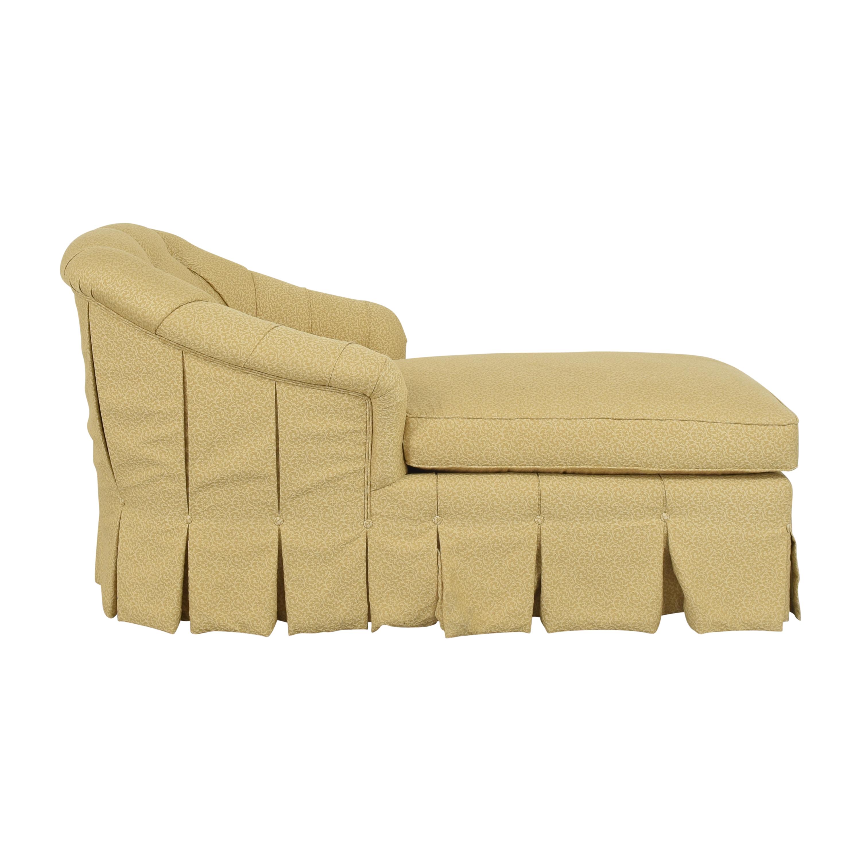 Duralee Duralee Pleated Custom Chaise dimensions